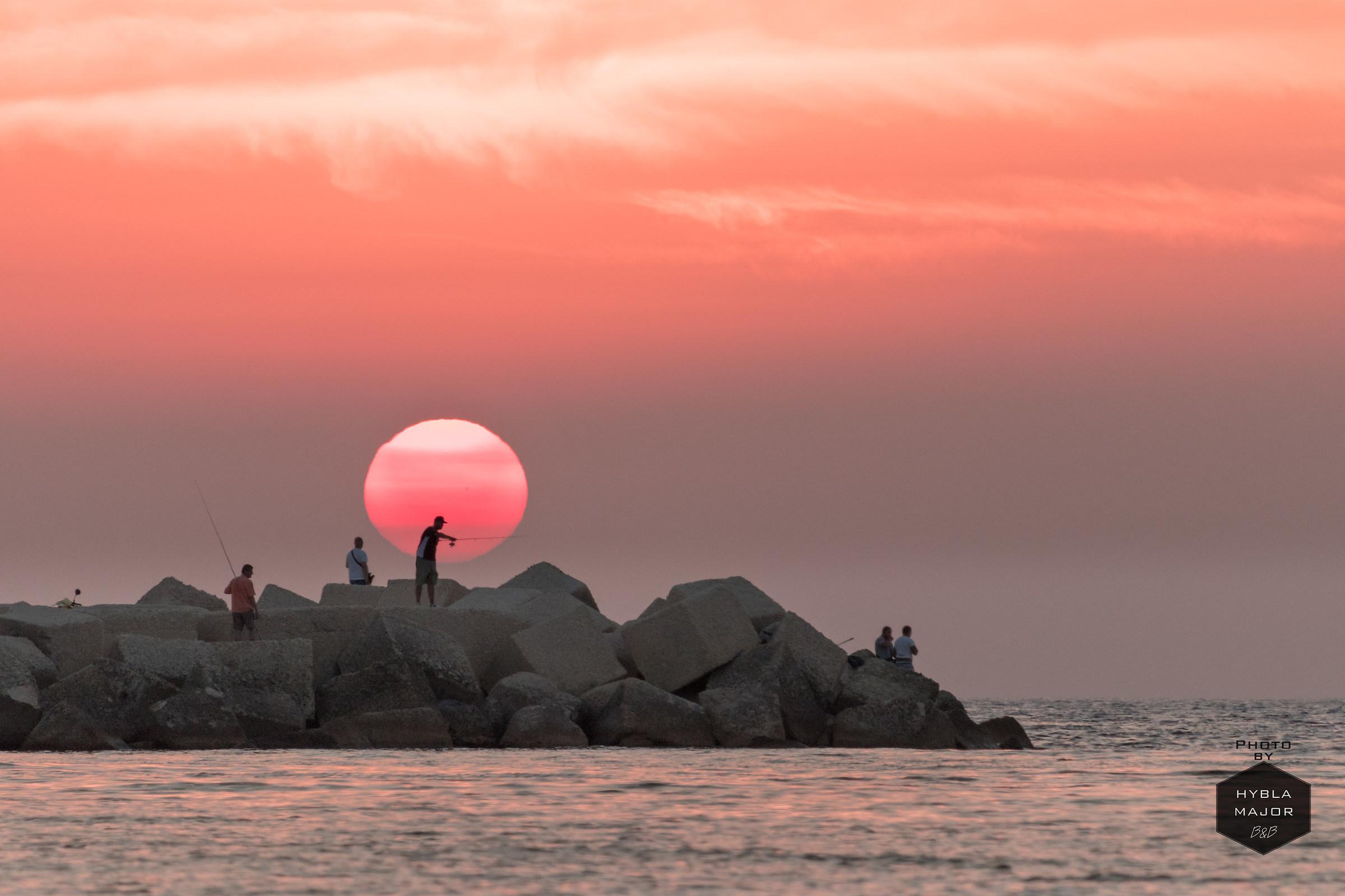 Fishermen at dawn...