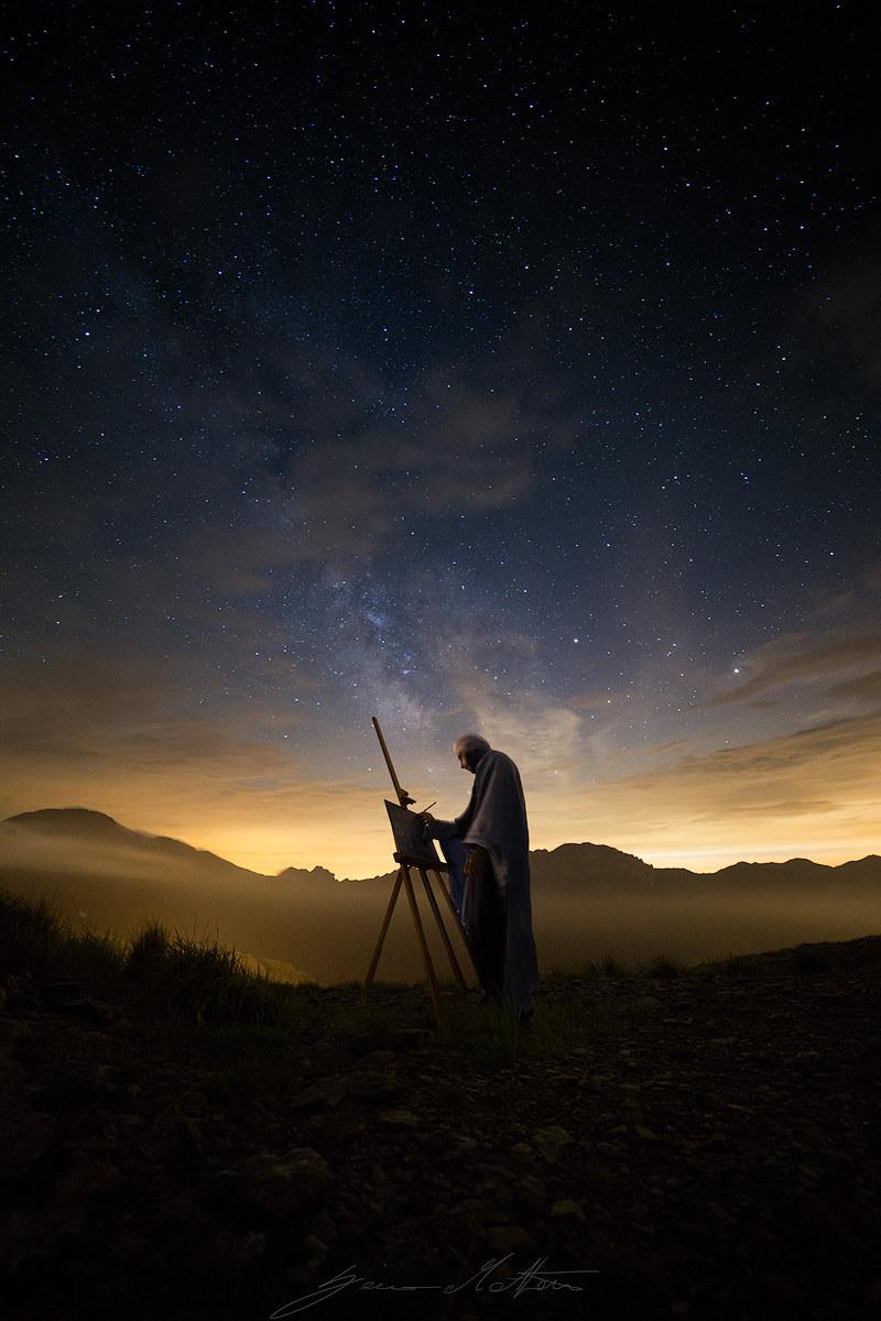 Painter of the stars...