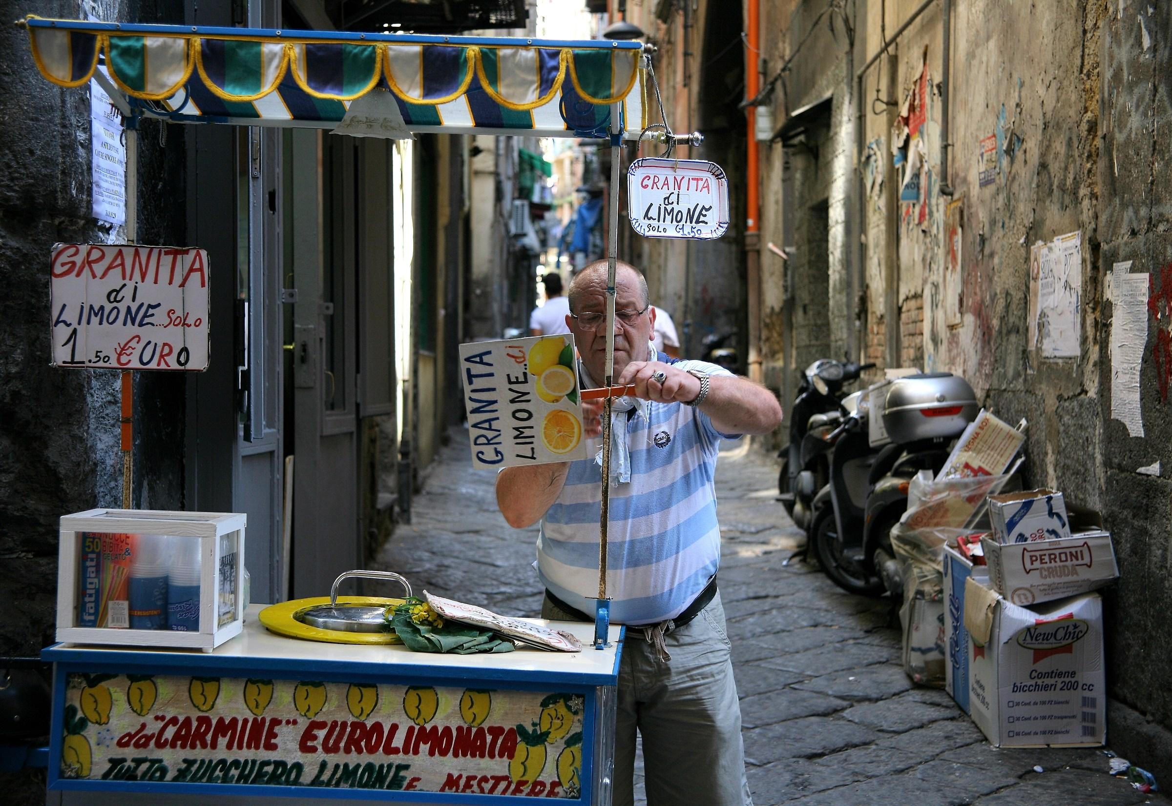 Tutto zucchero, limone e mestiere (Carmine)...