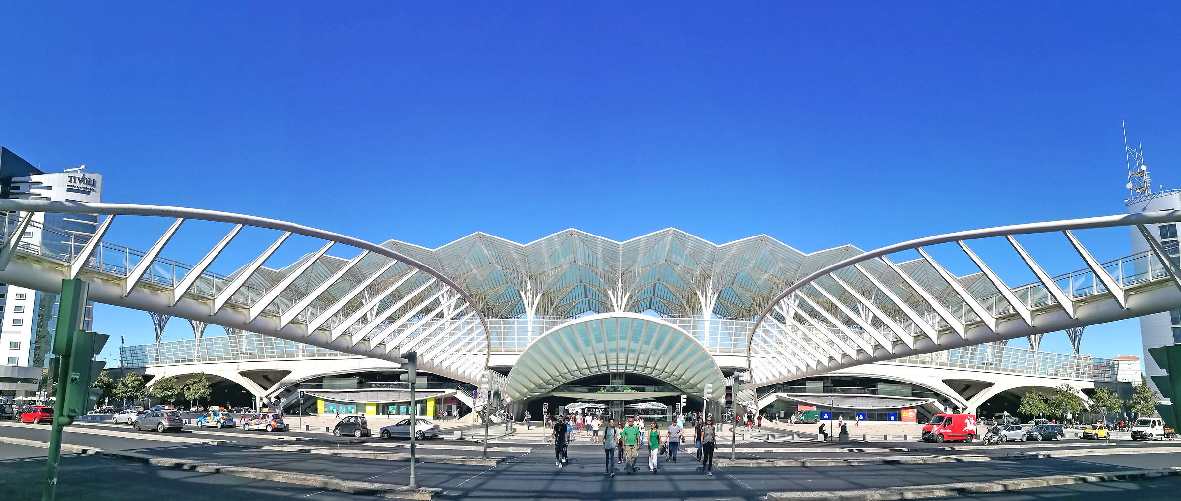 East Station designed by Santiago Calatrava...