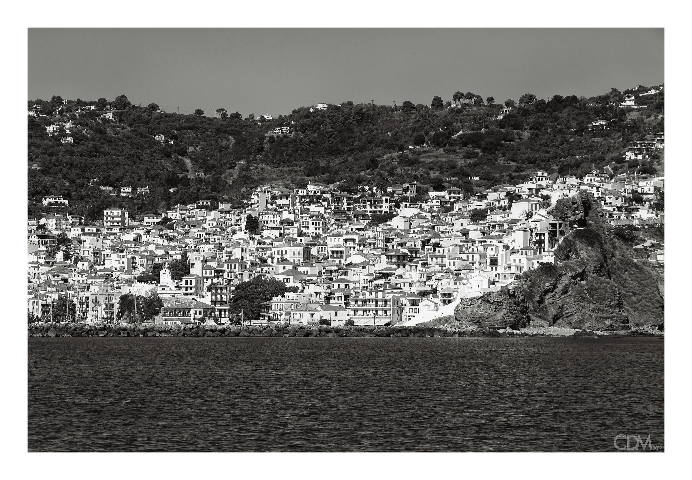 cartolina da Skopelos...