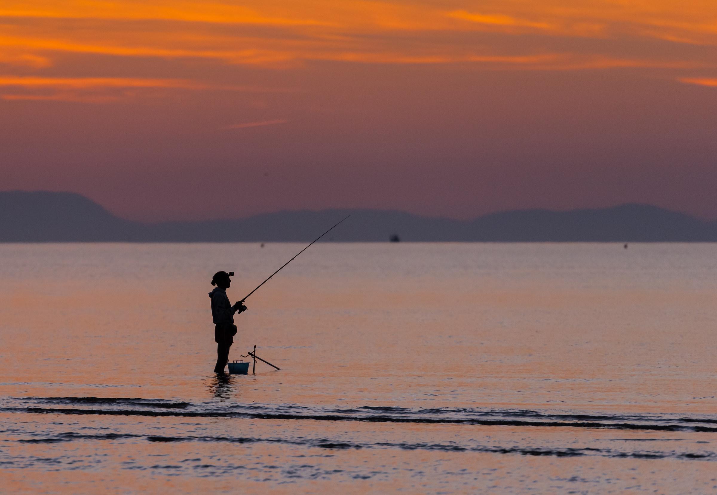 Morning fishing...