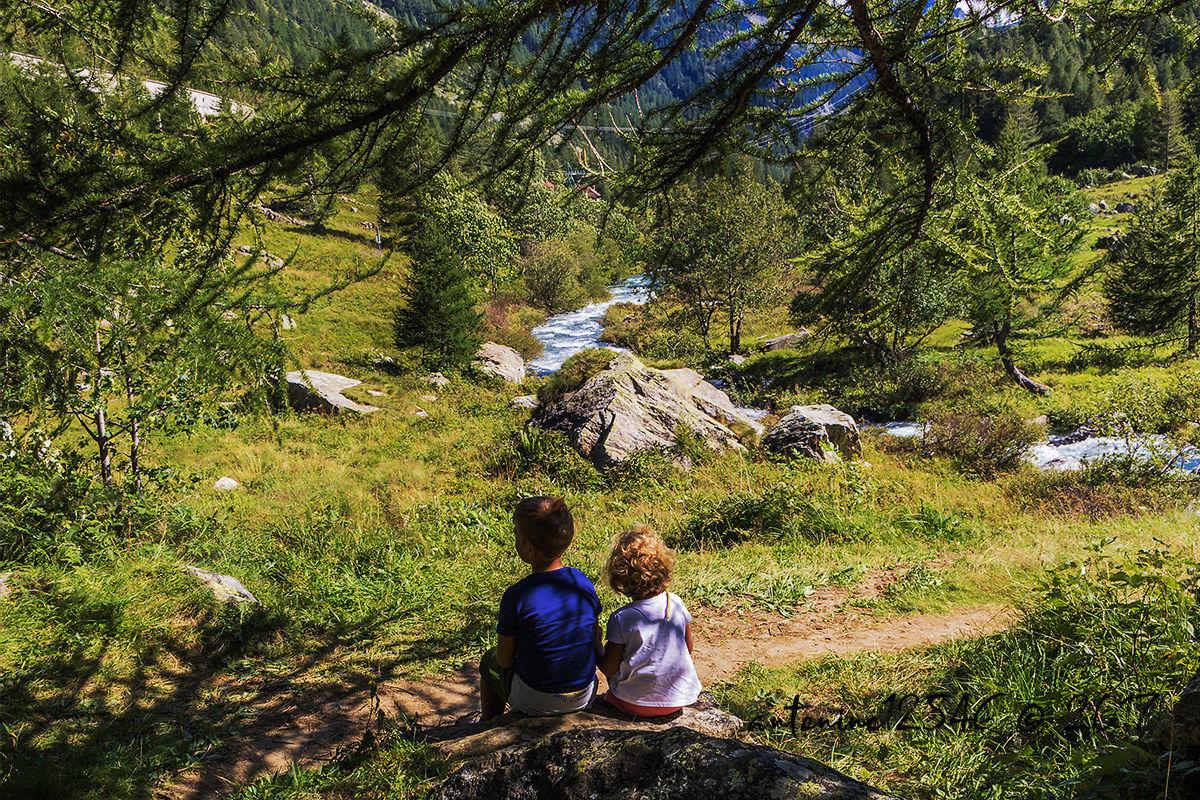 Let's enjoy the landscape...