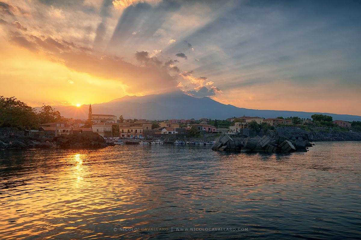 Pozzillo sunset...