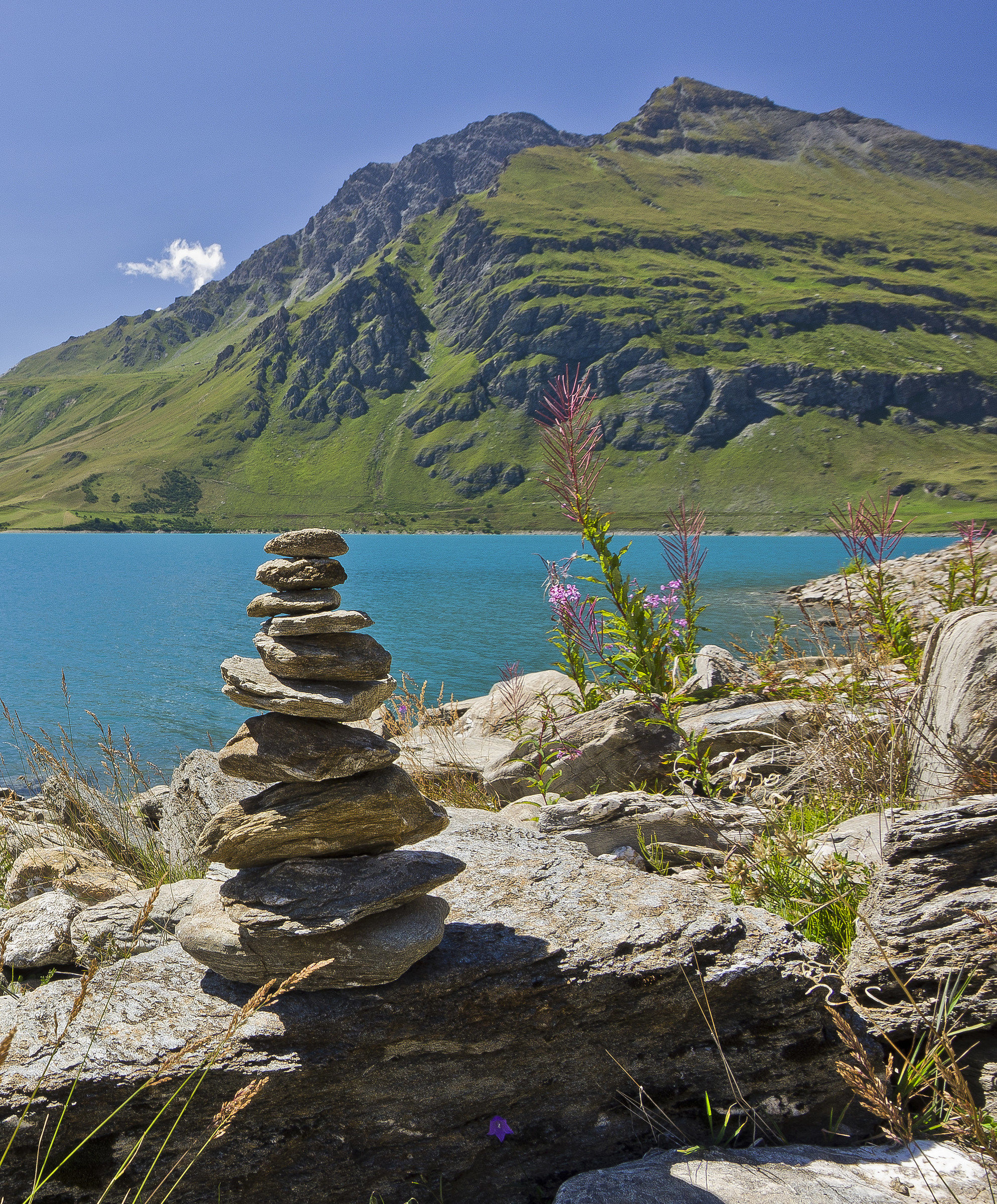 """""""The stones that support the mountain""""..."""