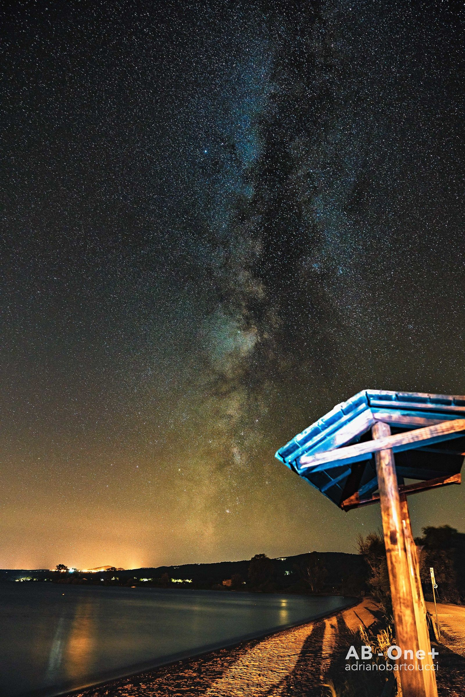 Milkyway in Gradoli - Bolsena's Lake...