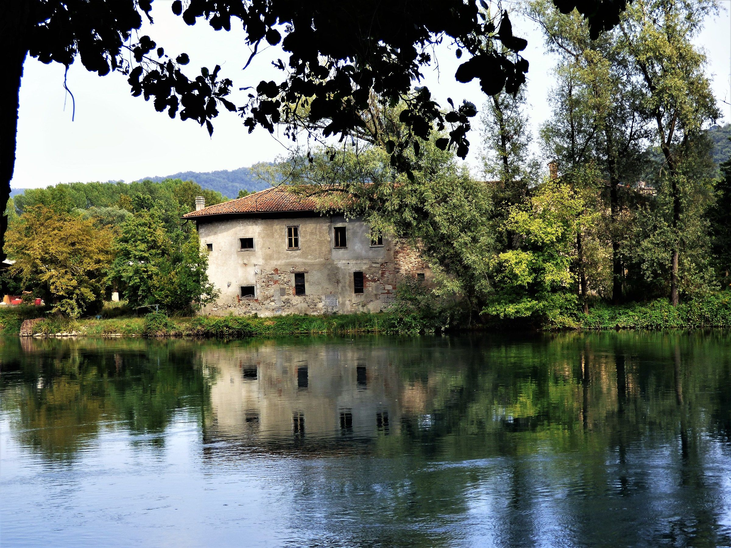 The old house on the river...