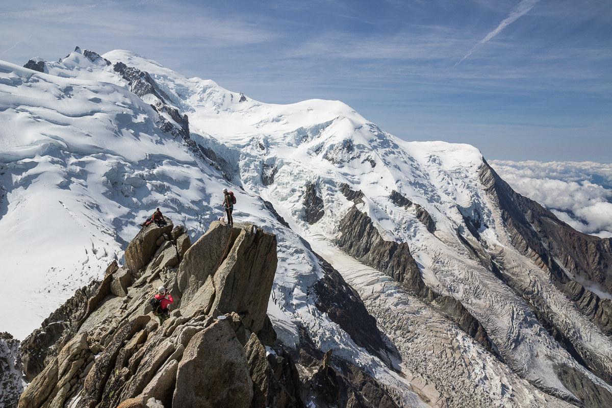Monte Bianco dall'Aguille du Midi...