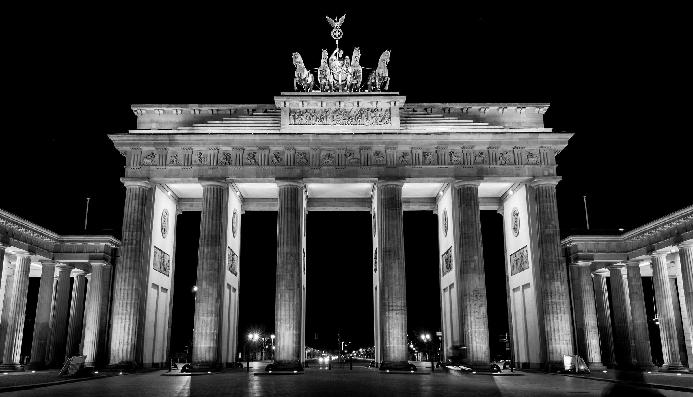 Brandenburg Gate...