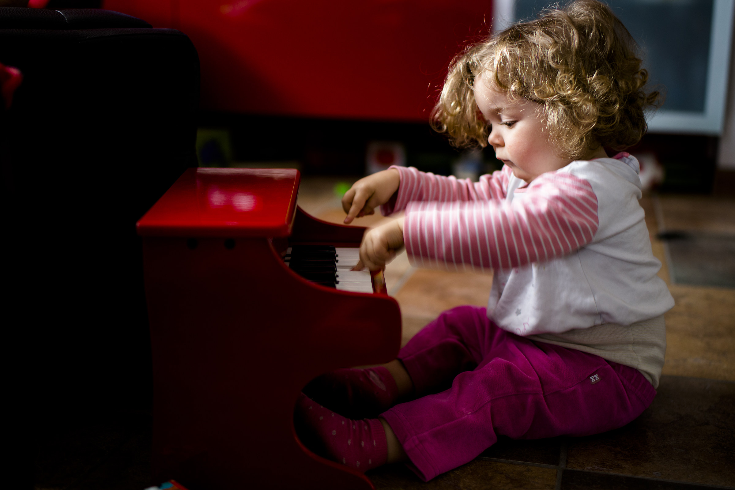 Piano lessons...