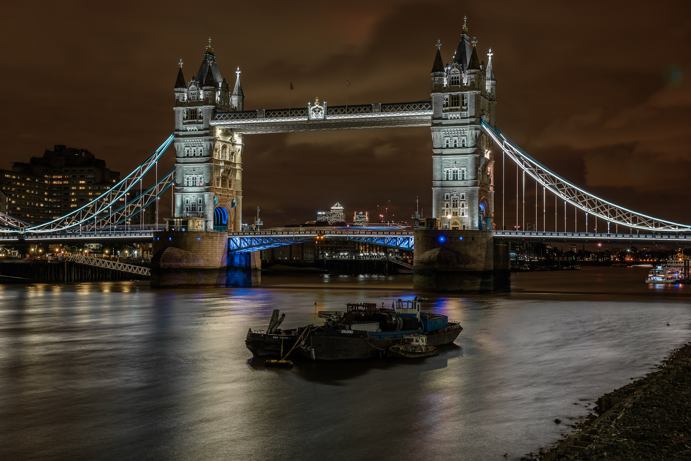 Tower Bridge...