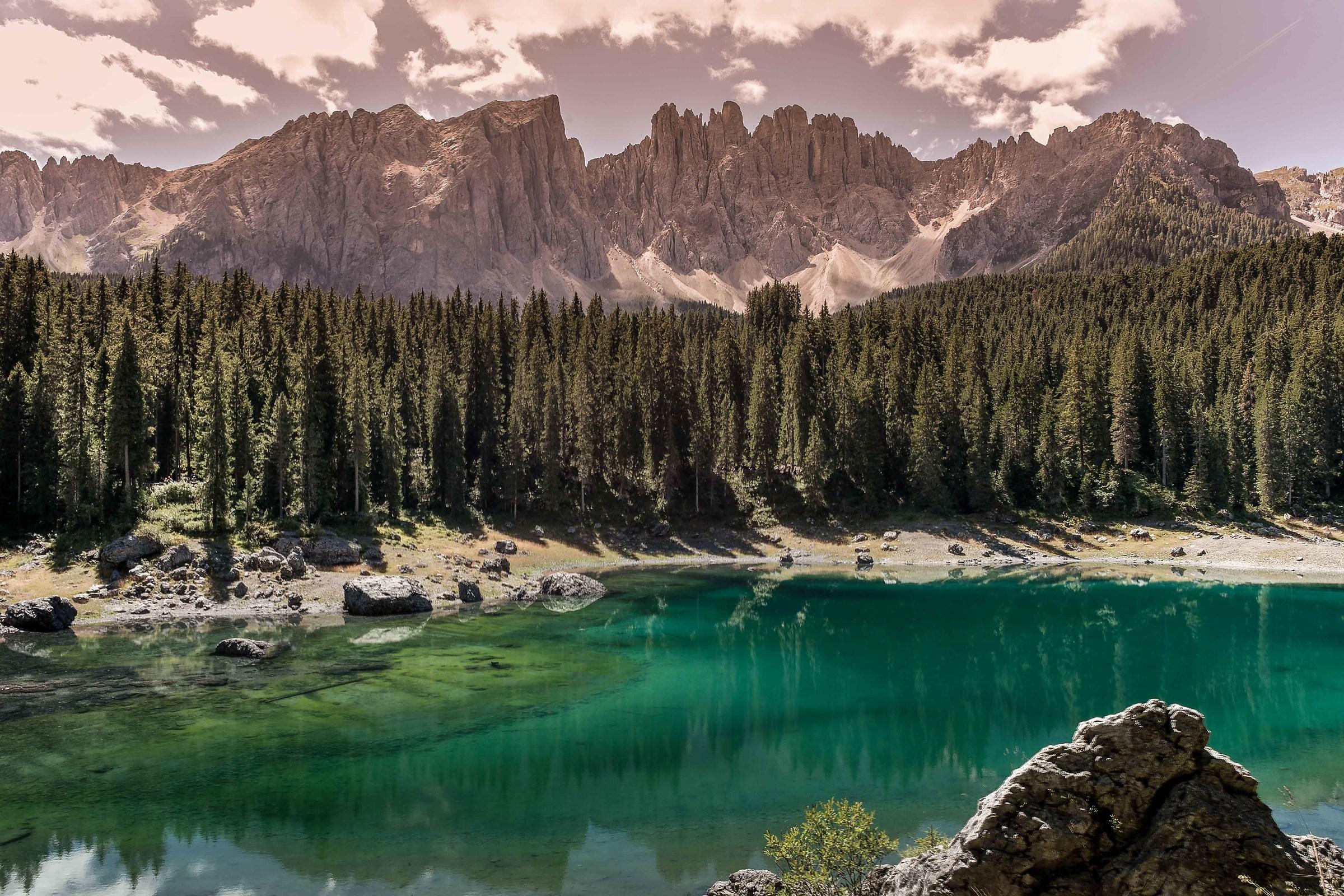 Lake Carezza...
