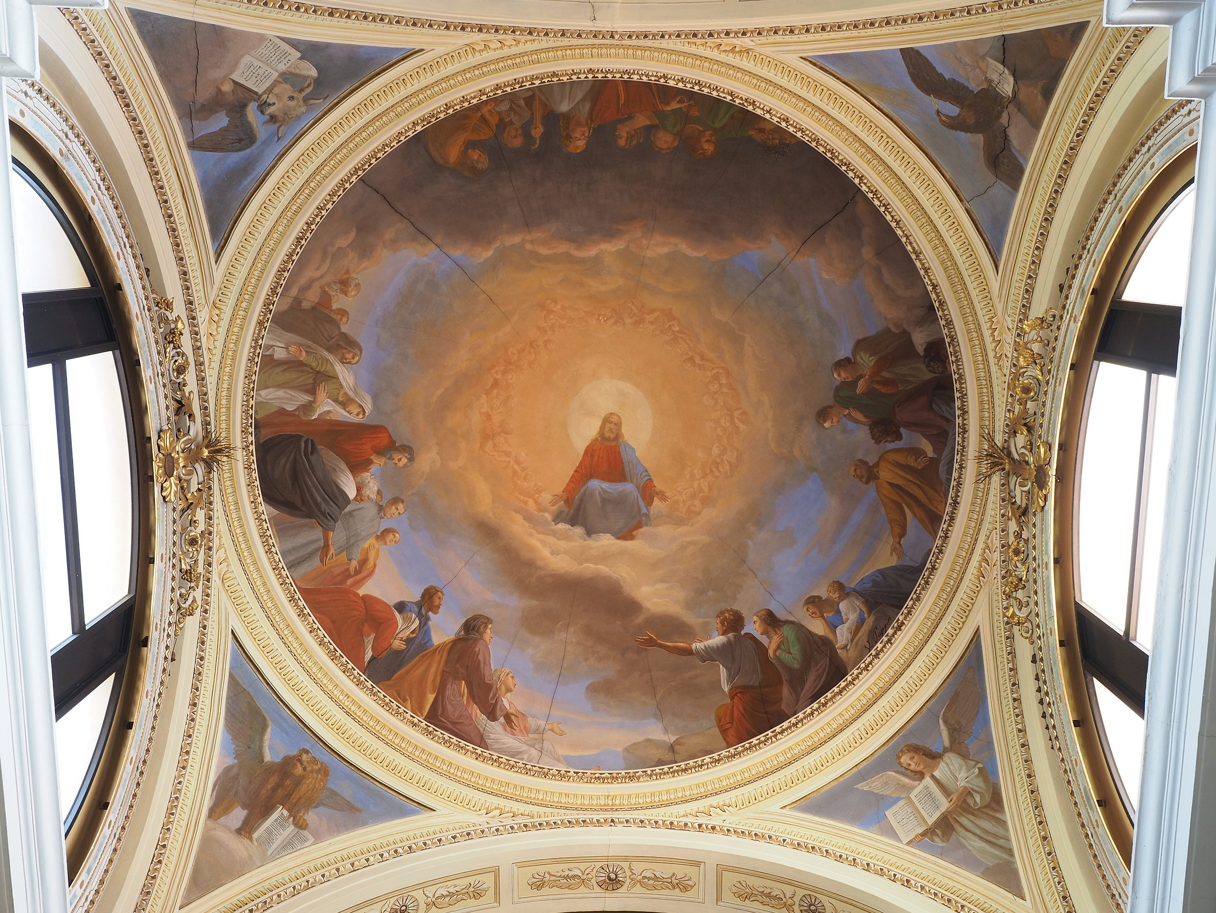 Central Zugliano - interior parish church...