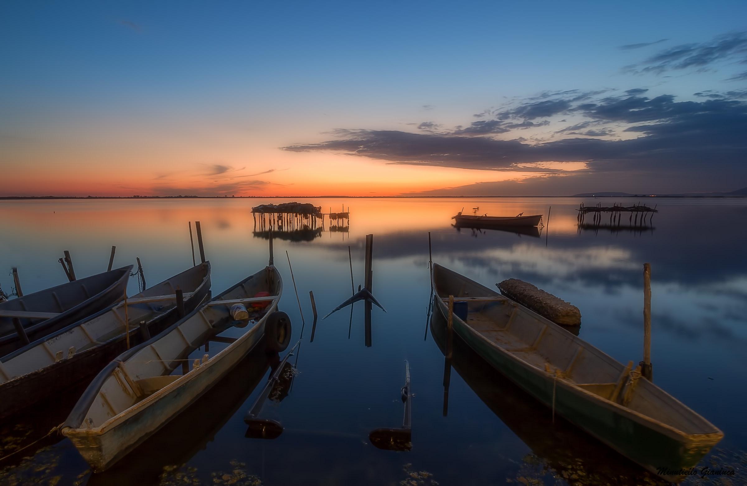 Lesina's boats...
