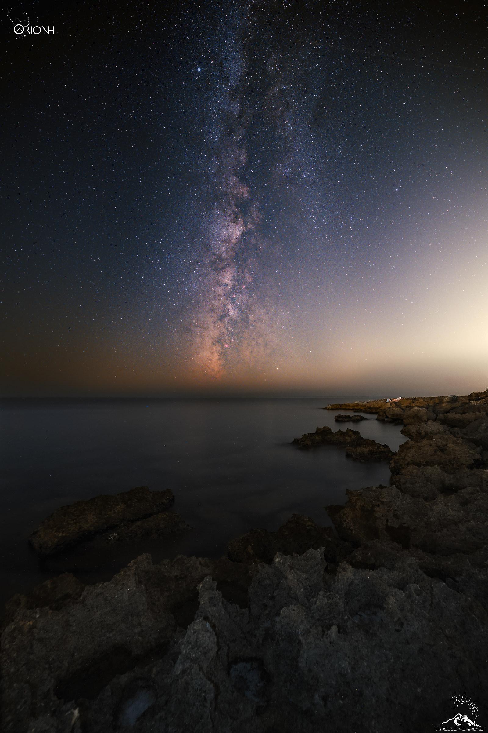 Sleeping galaxy...