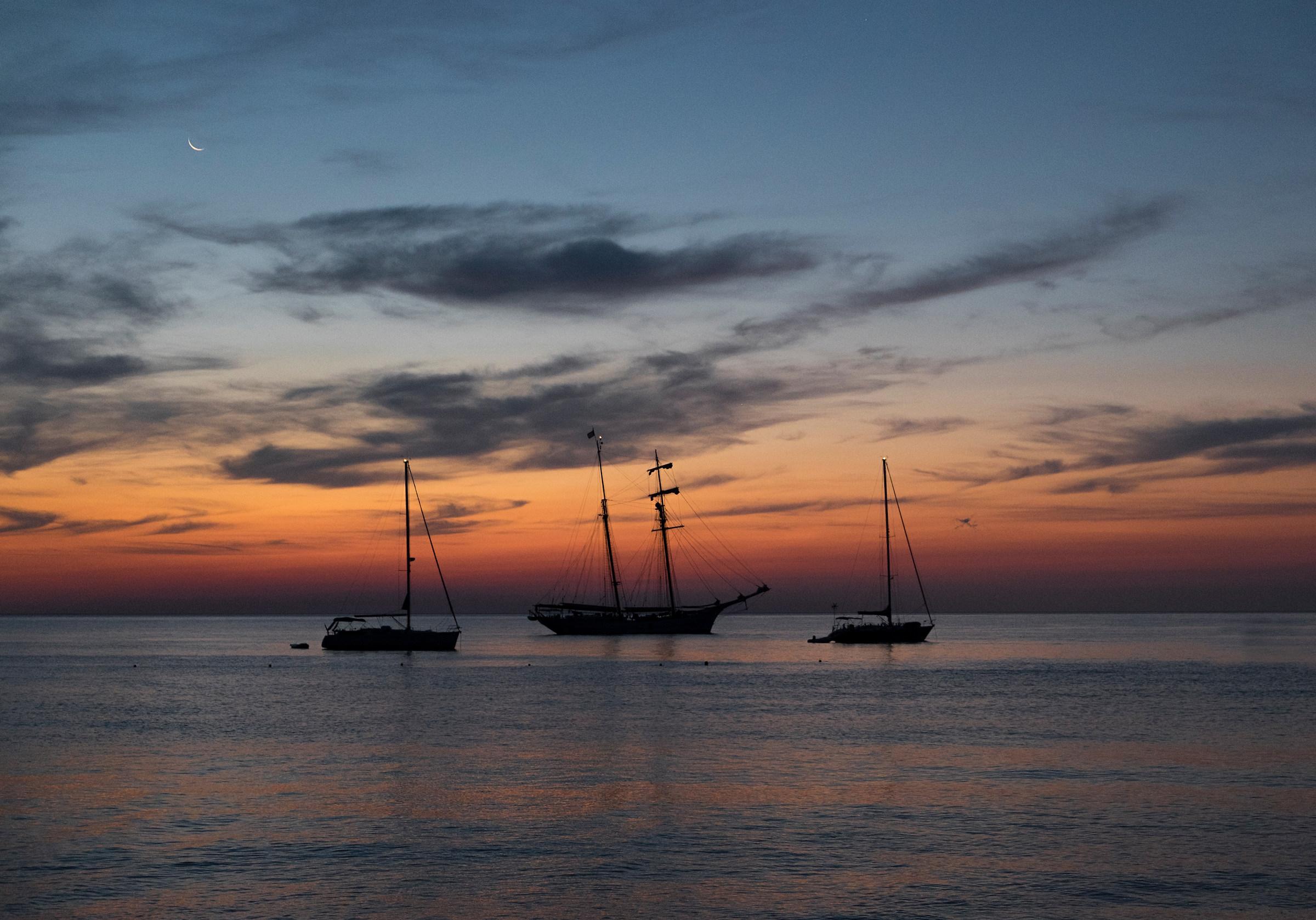 Sunrise at Cala Luna...