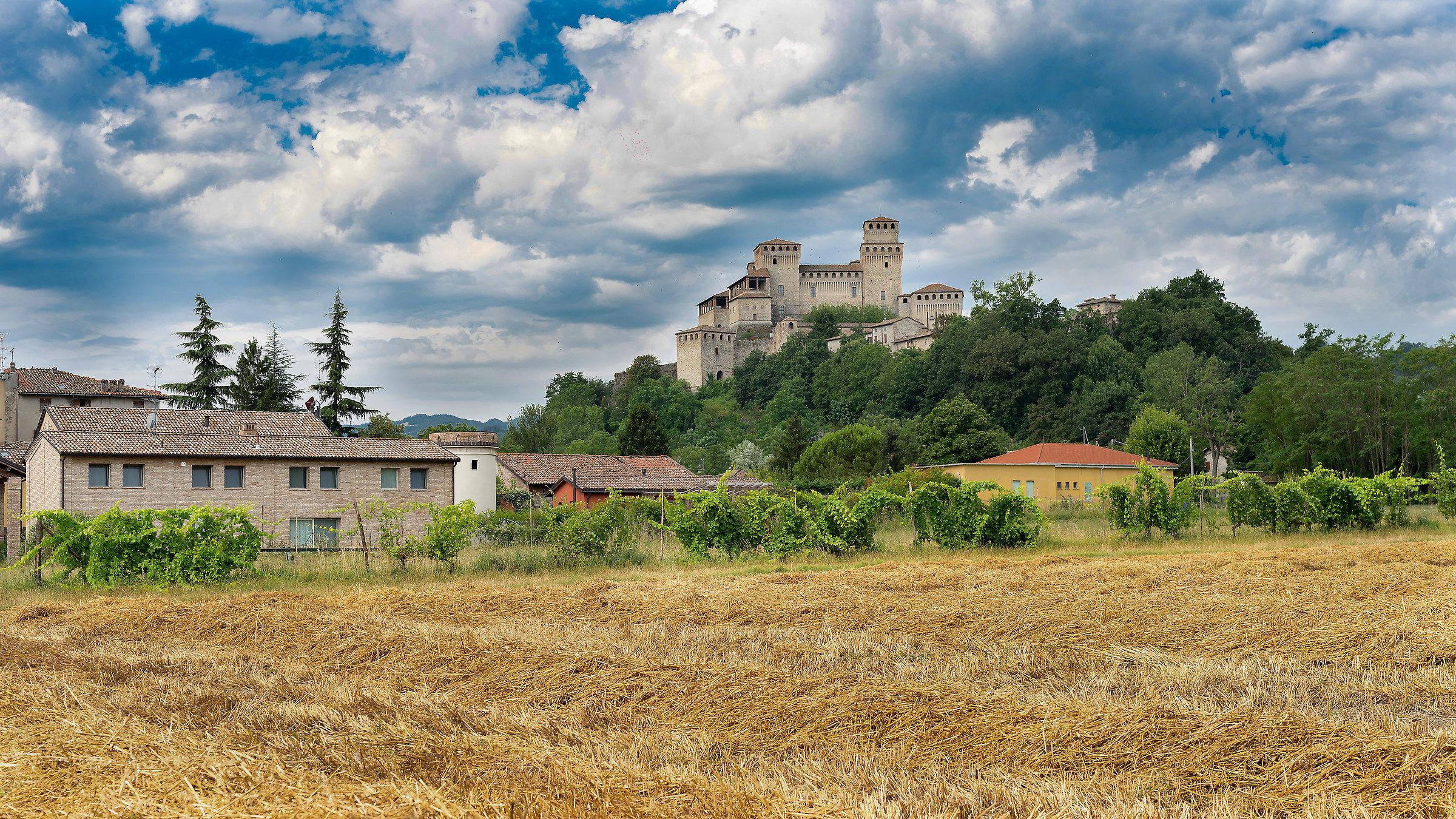 Castle of Torrechiara - Parma...