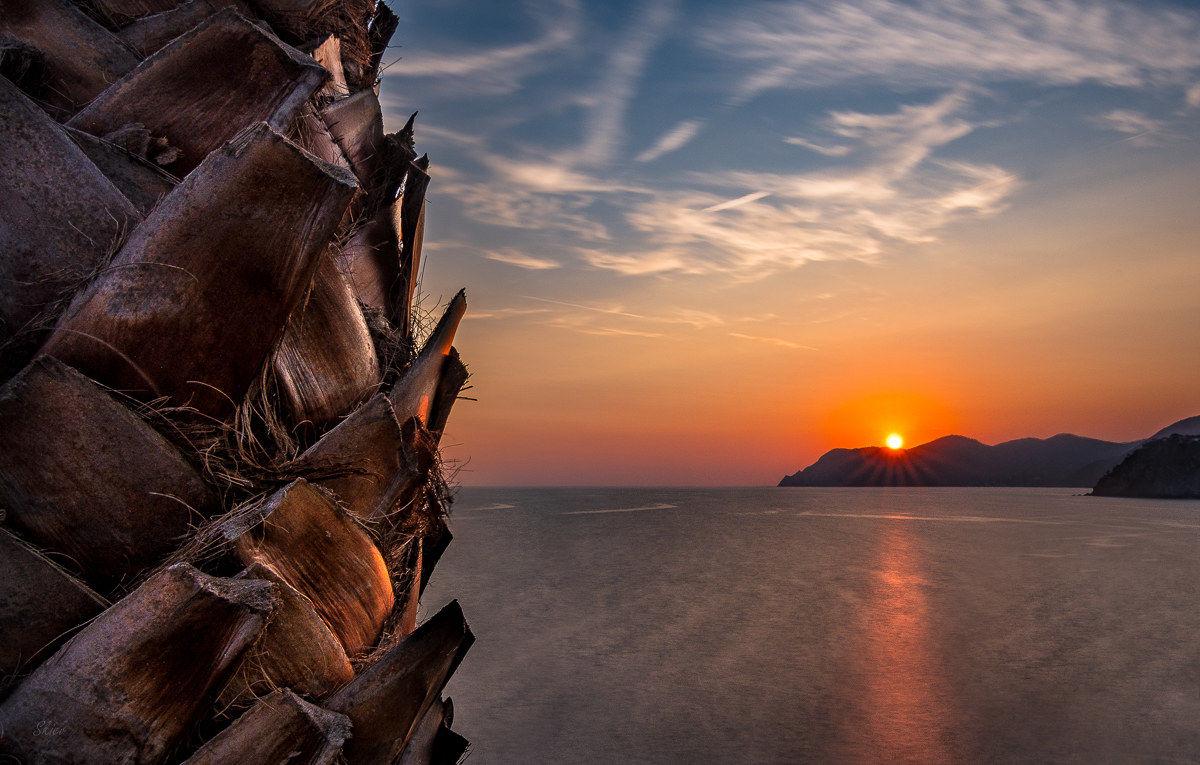 Ligurian sunset...