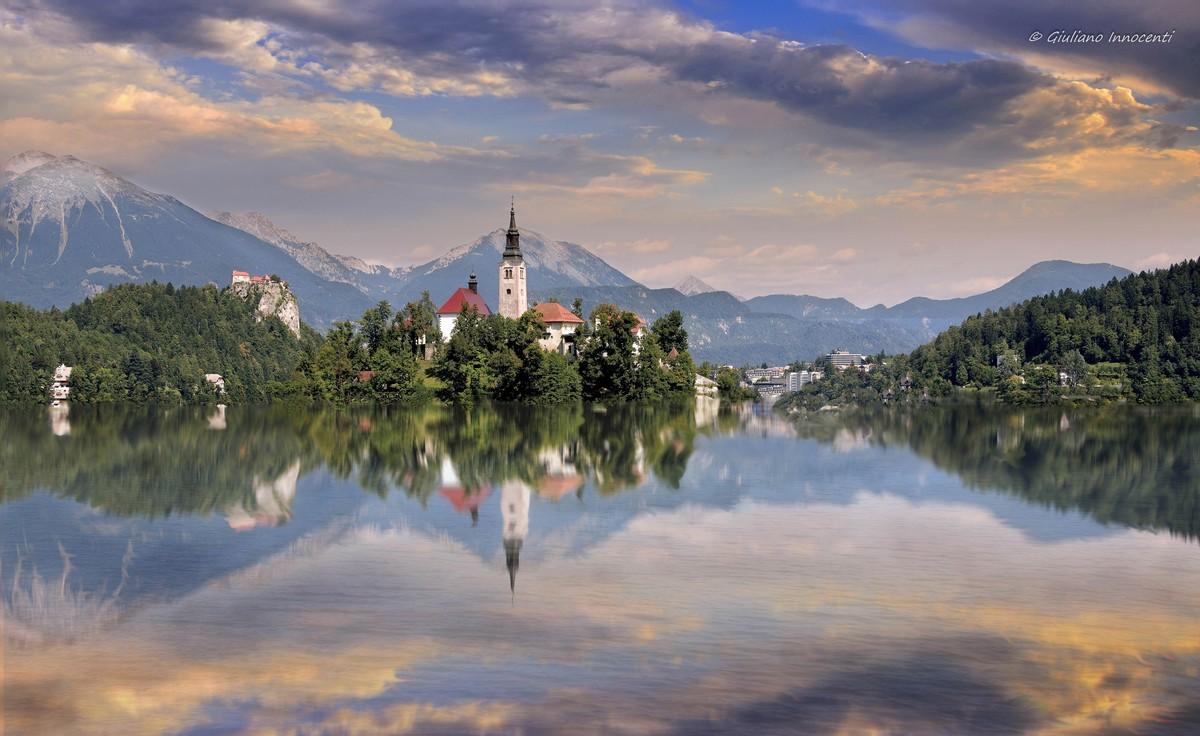 Carolina from Lake Bled...