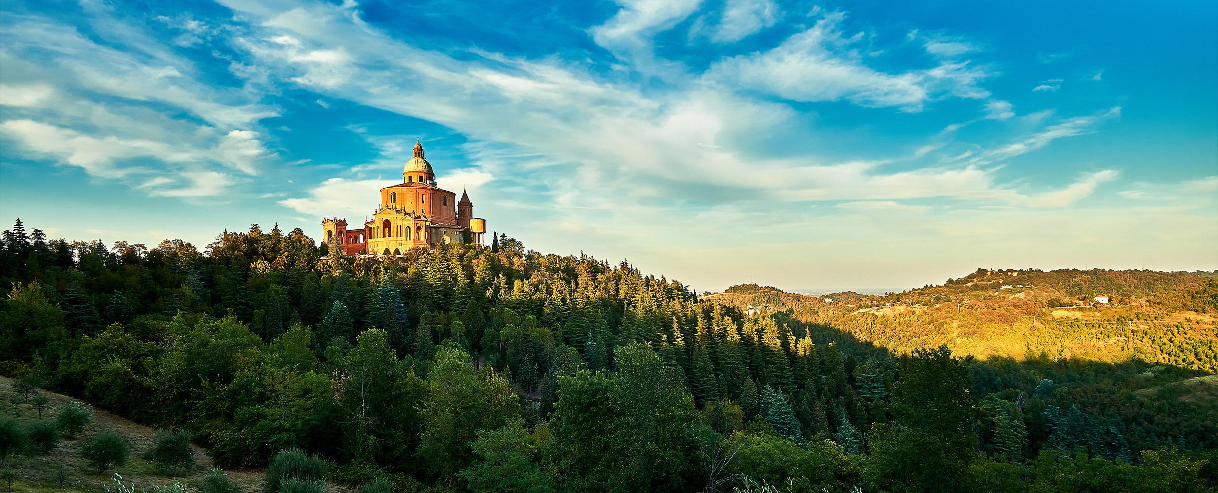 Tramonto a San Luca...