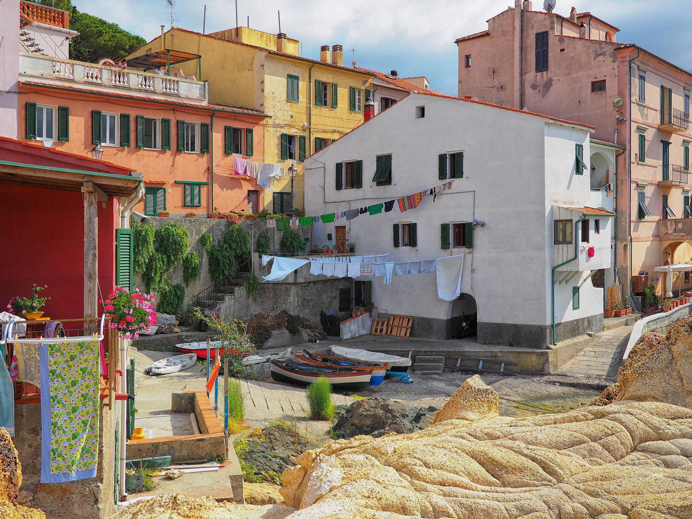 Borgo il Cotone a Marciana Marina...