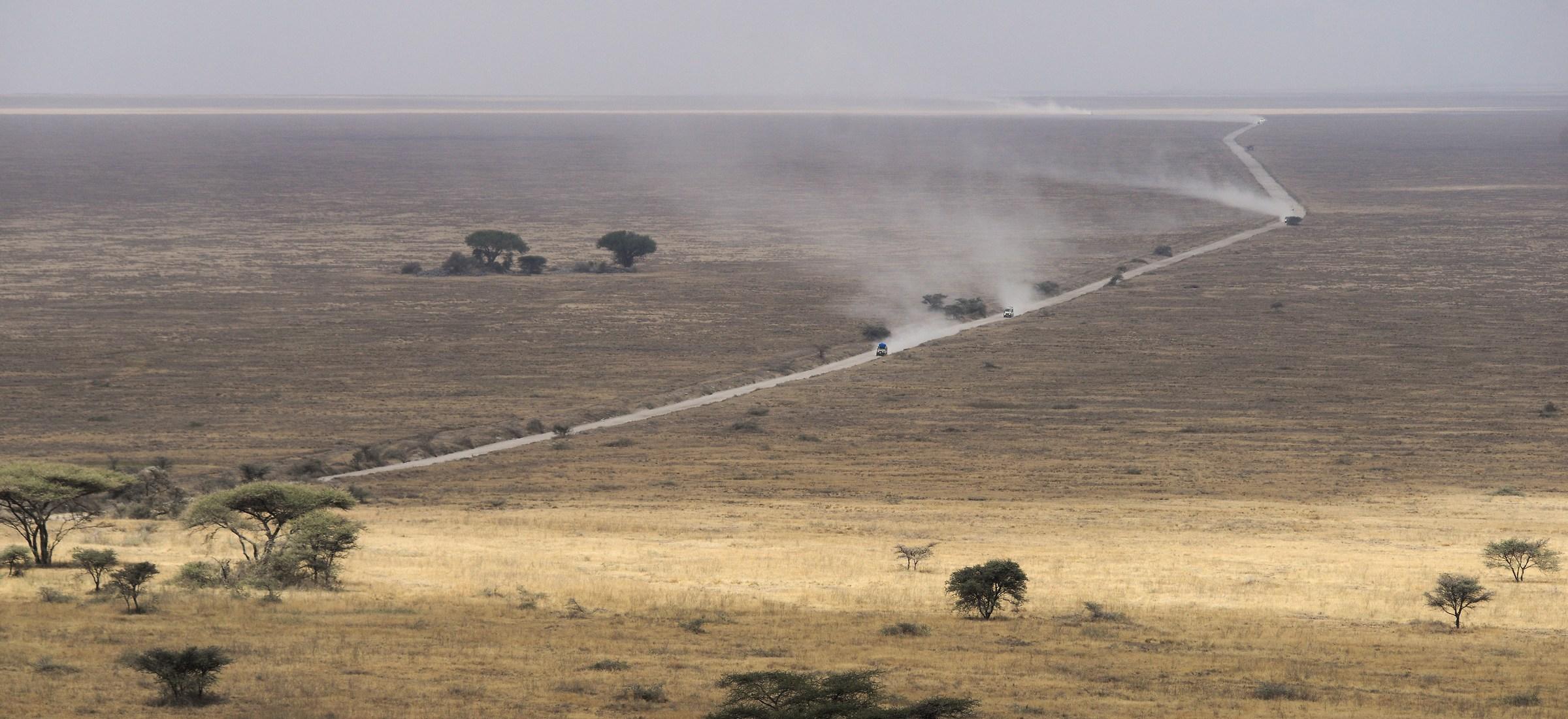 La strada per il Serengeti / Tanzania...