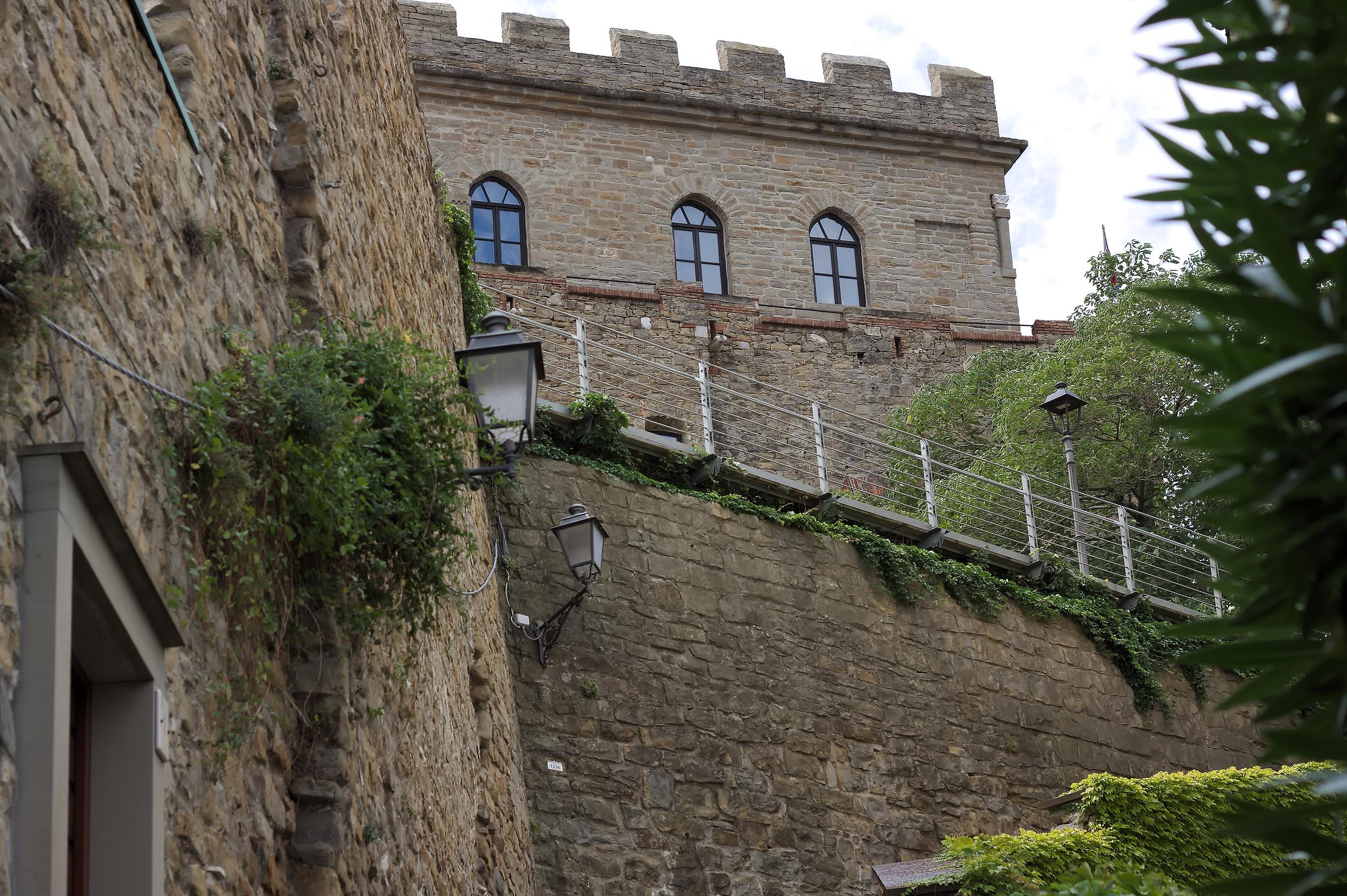 View of Muggia Castle...