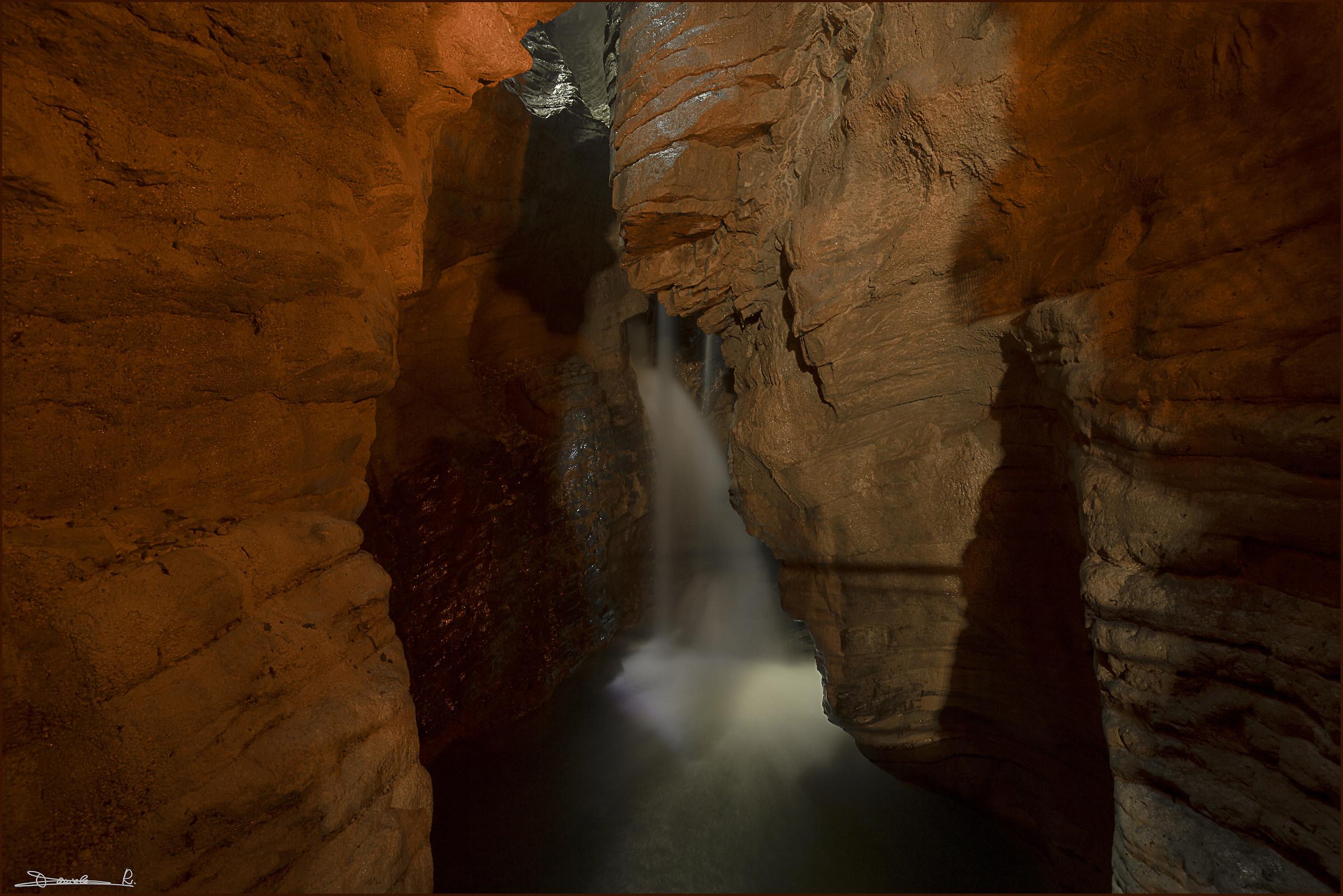 Grotta cascate del Varone...
