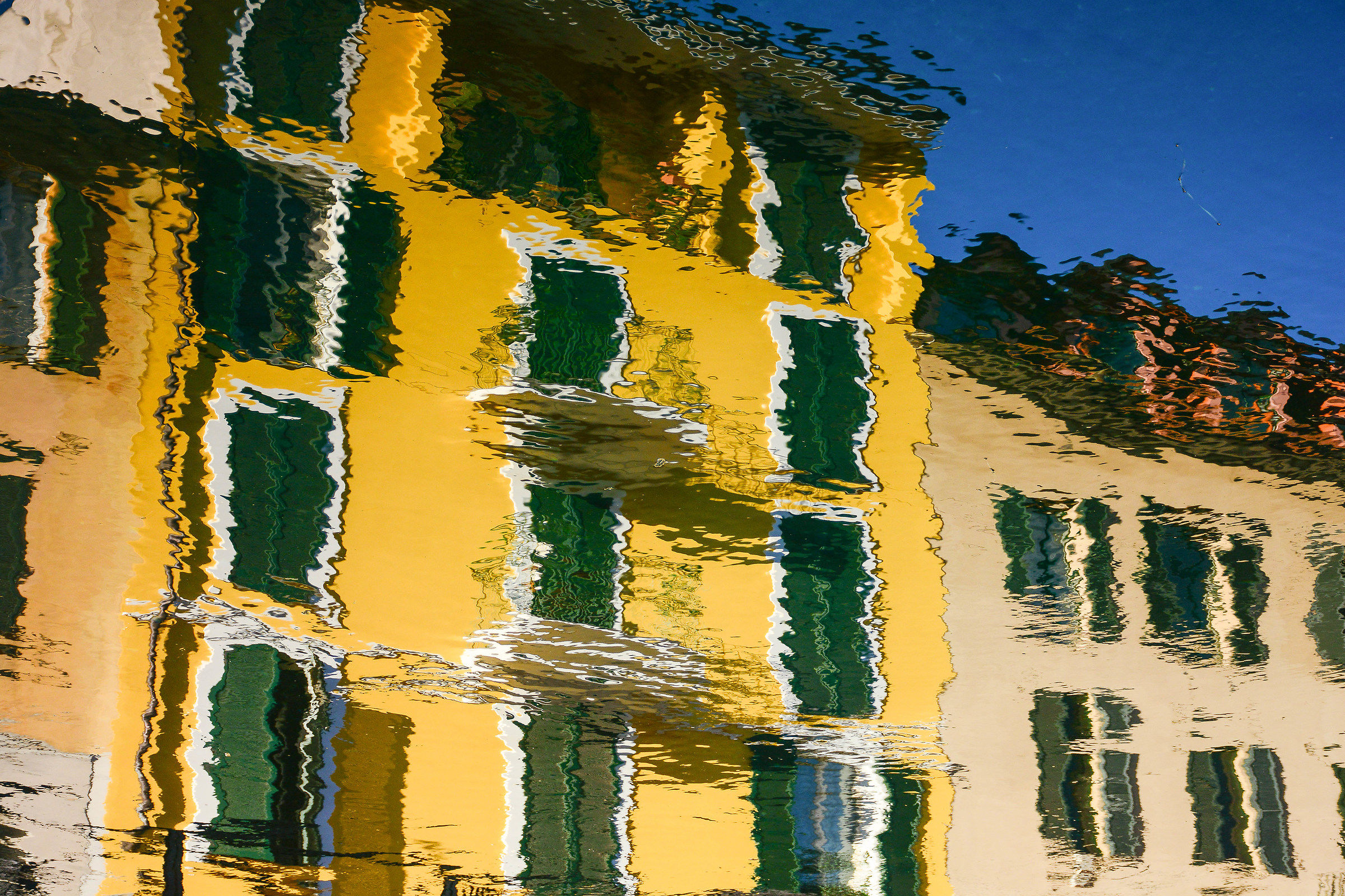 Reflections on the Great Naviglio...