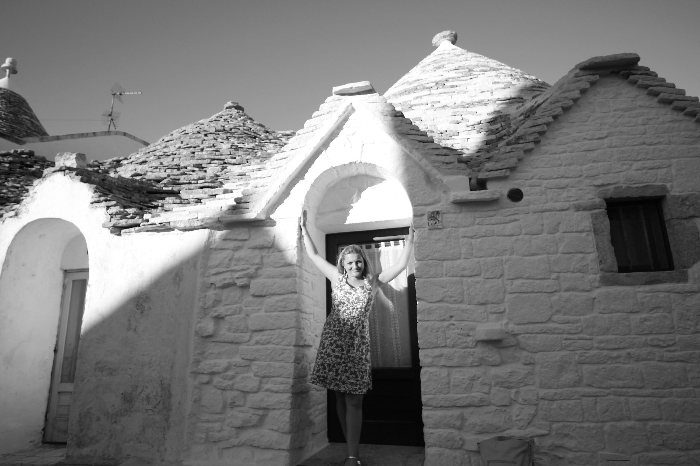 Tra i trulli di Alberobello...