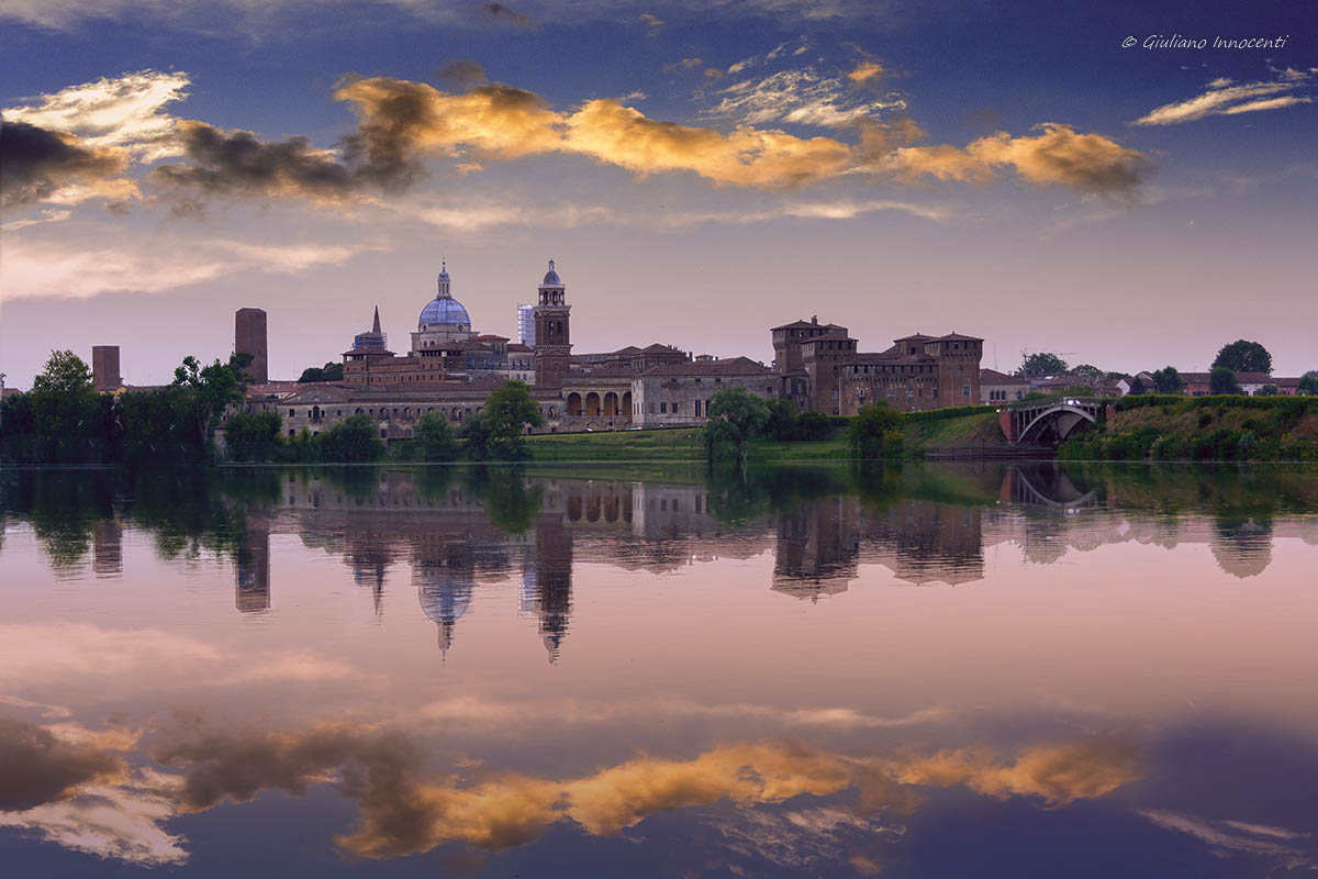 An evening in Mantua...