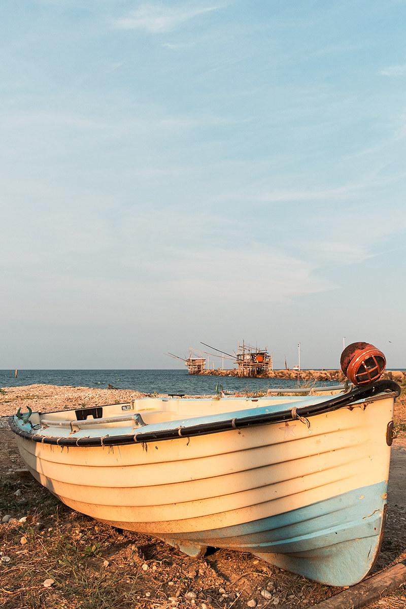 Coast of the Trabocchi...