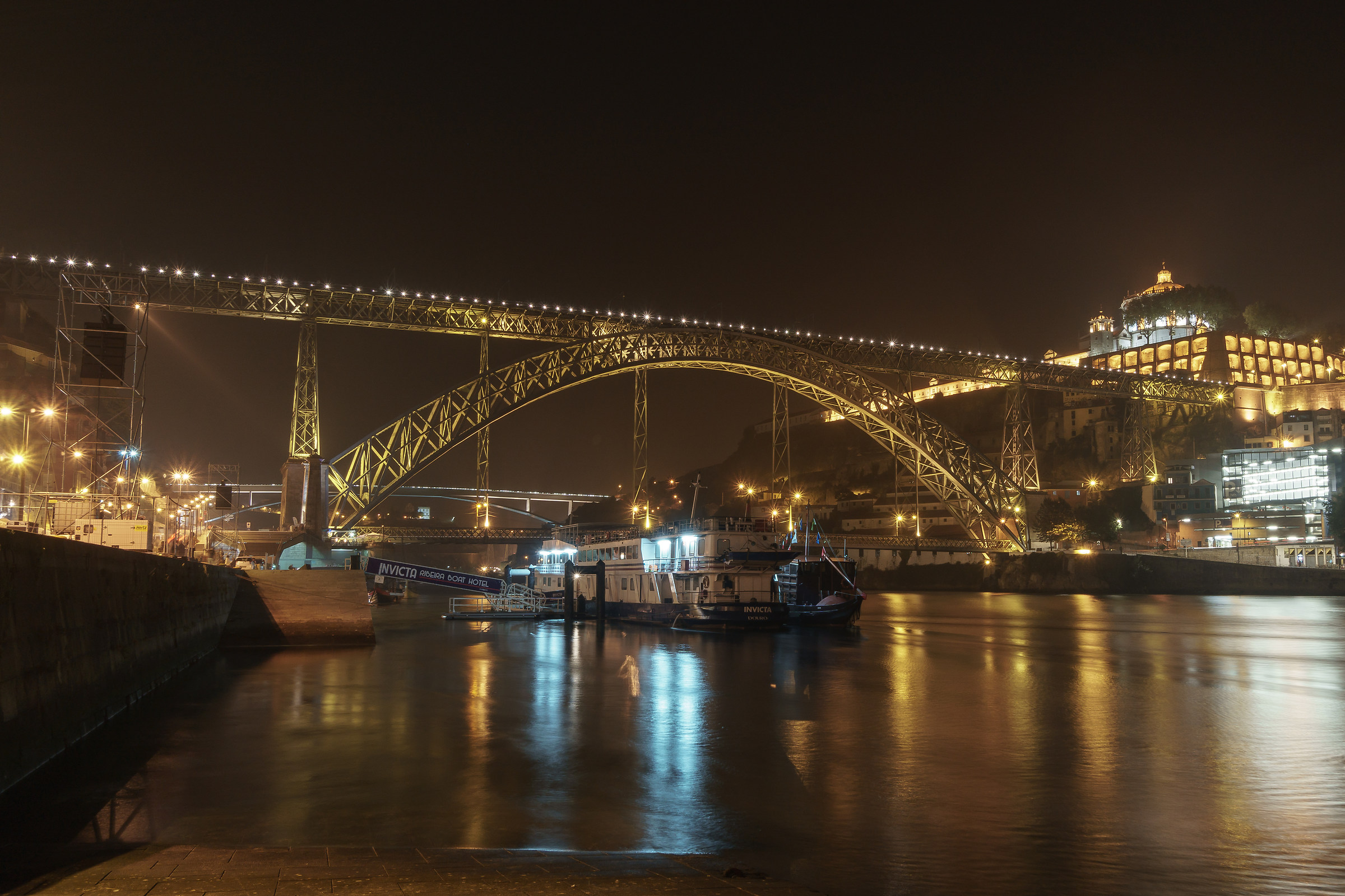 Oporto, Ponte Dom Luis I...