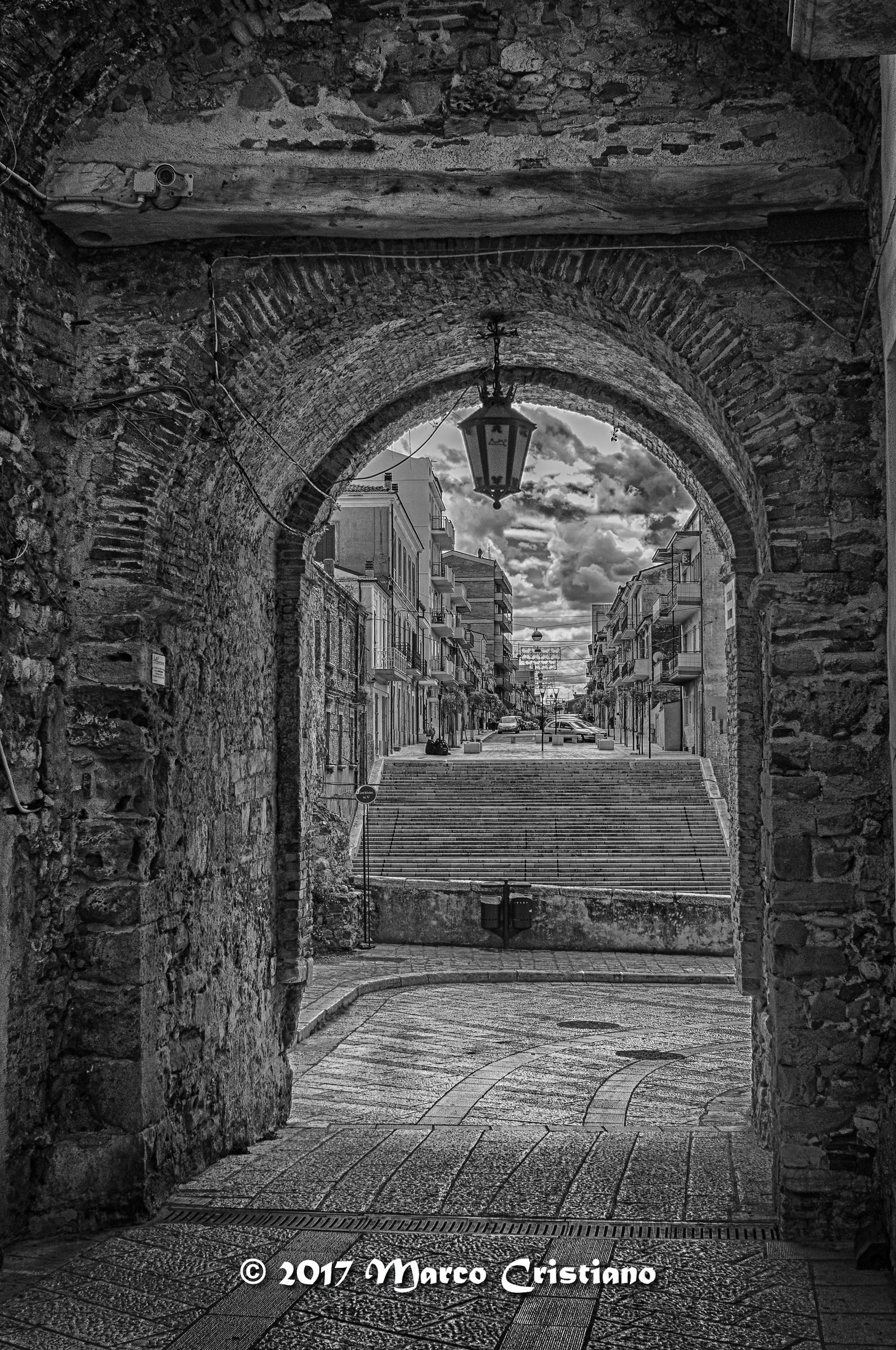 Uscendo dal borgo antico..(Termoli)...