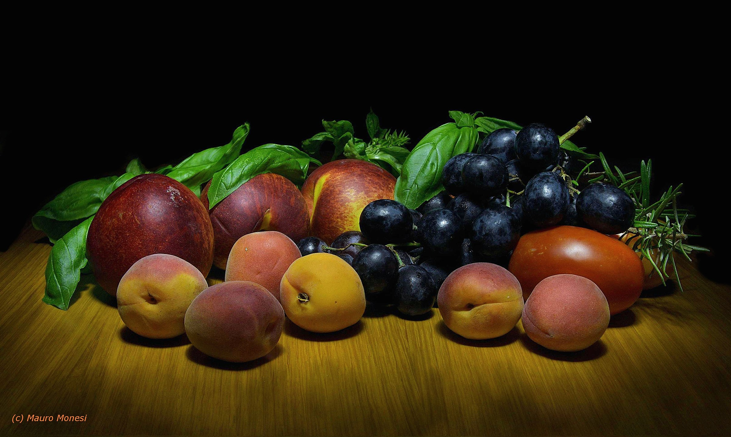 Fruits in the late summer...