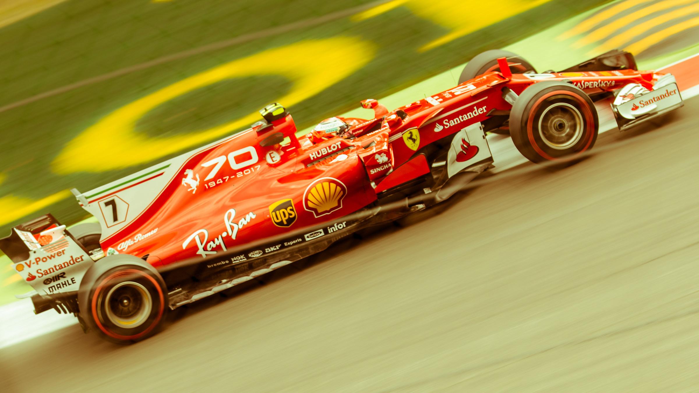 Kimi Räikkönen F1 - Monza 2017...