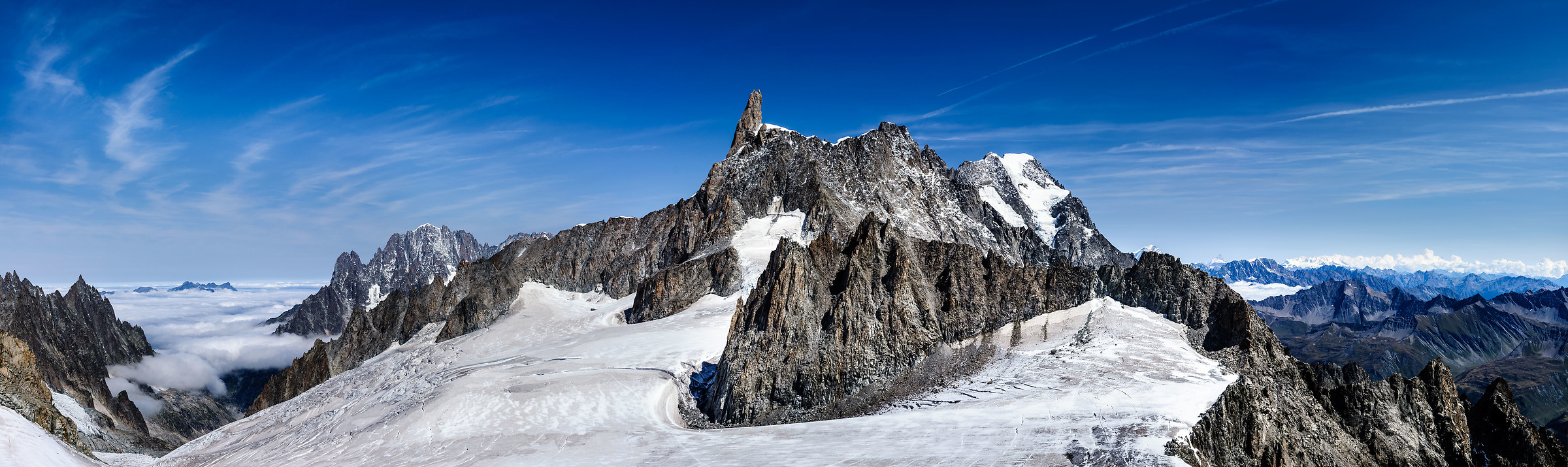 To stay in the theme .... Mont Blanc...