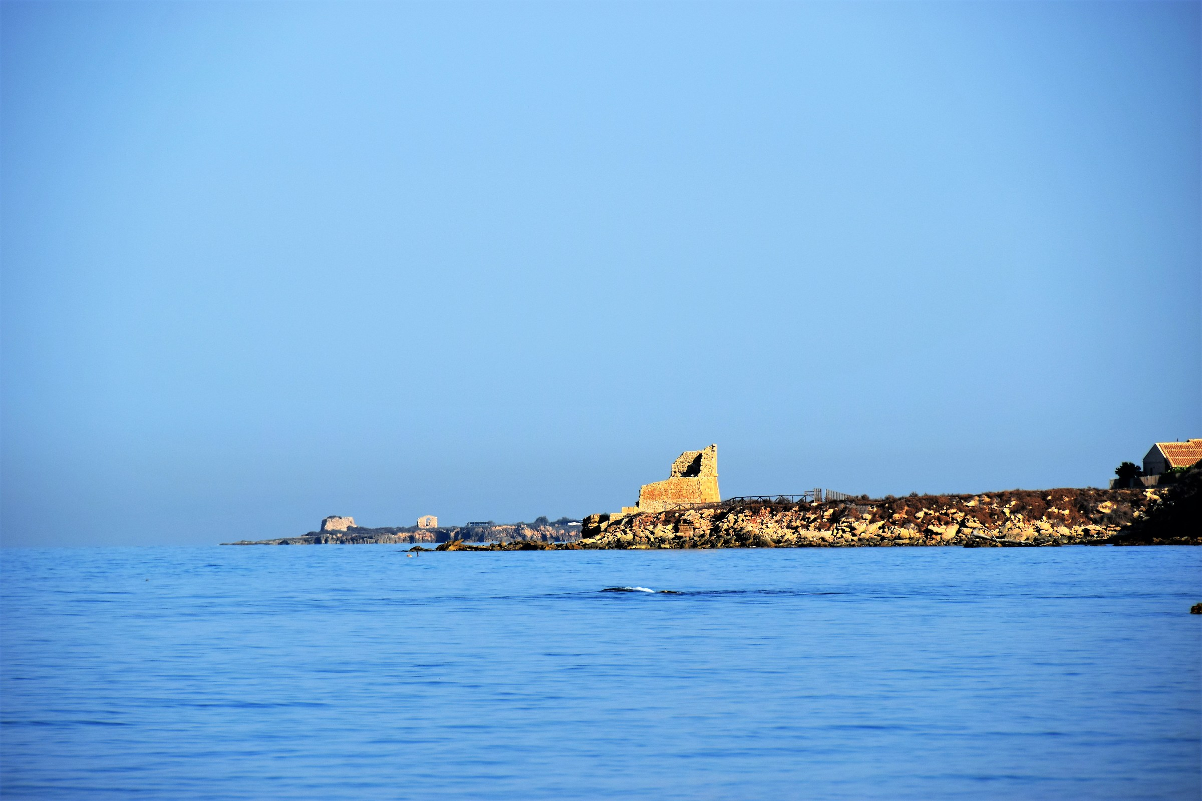 Sicilian coasts in the morning...
