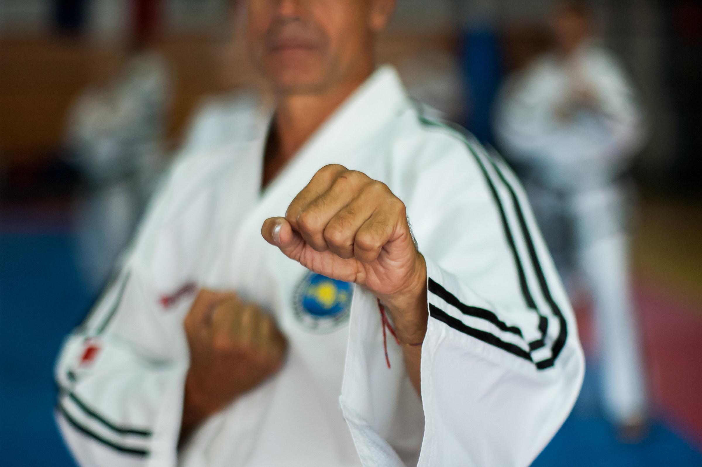 I love Taekwondo ITF...