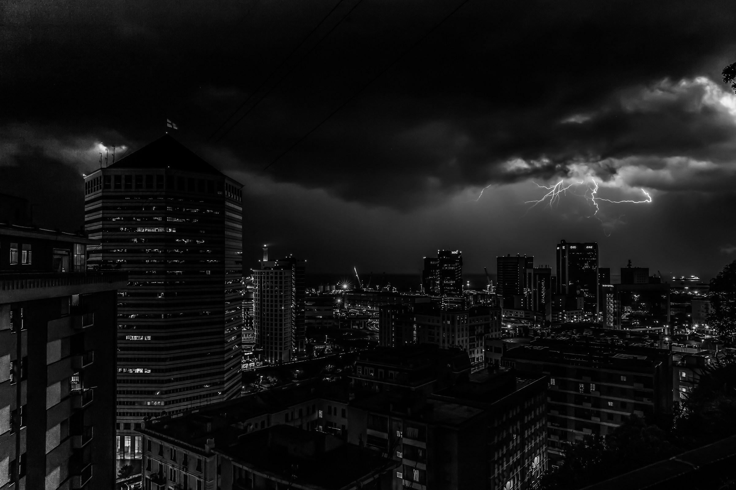 Genova or......Gotham City?...