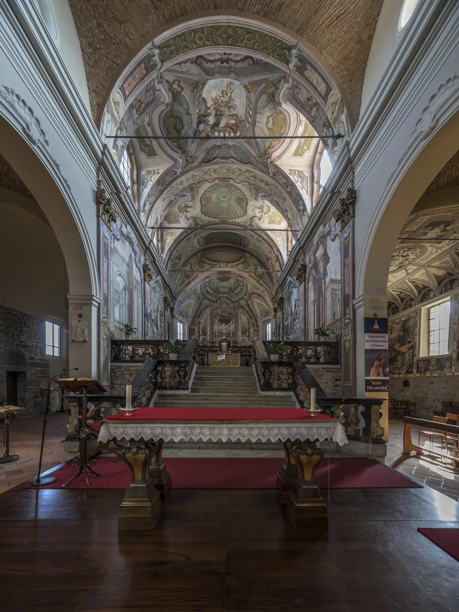 Sesto Calende - Chiesa di San Donato - Presbiterio - 2...