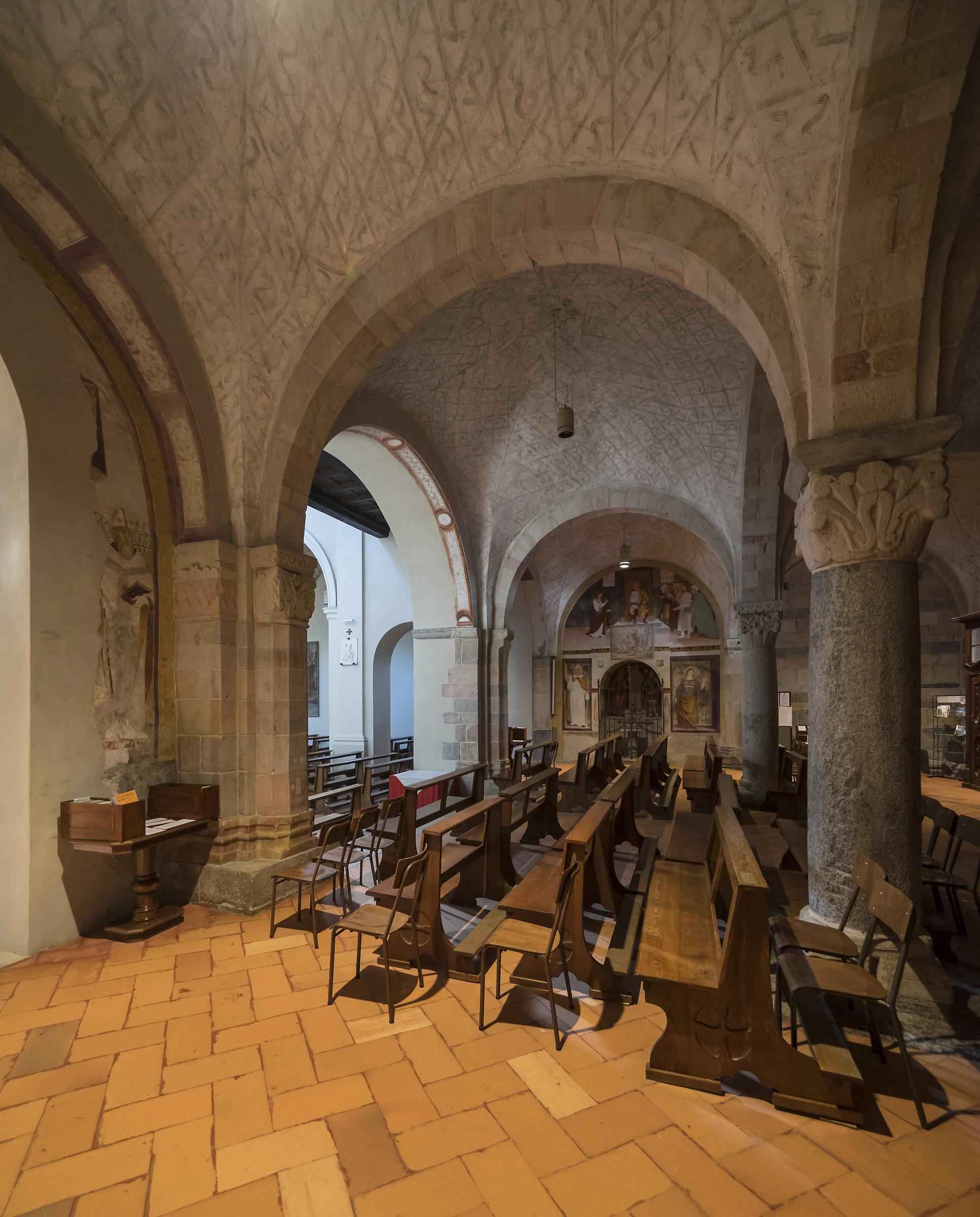 Sesto Calende - Chiesa di San Donato - Nartece - 1...