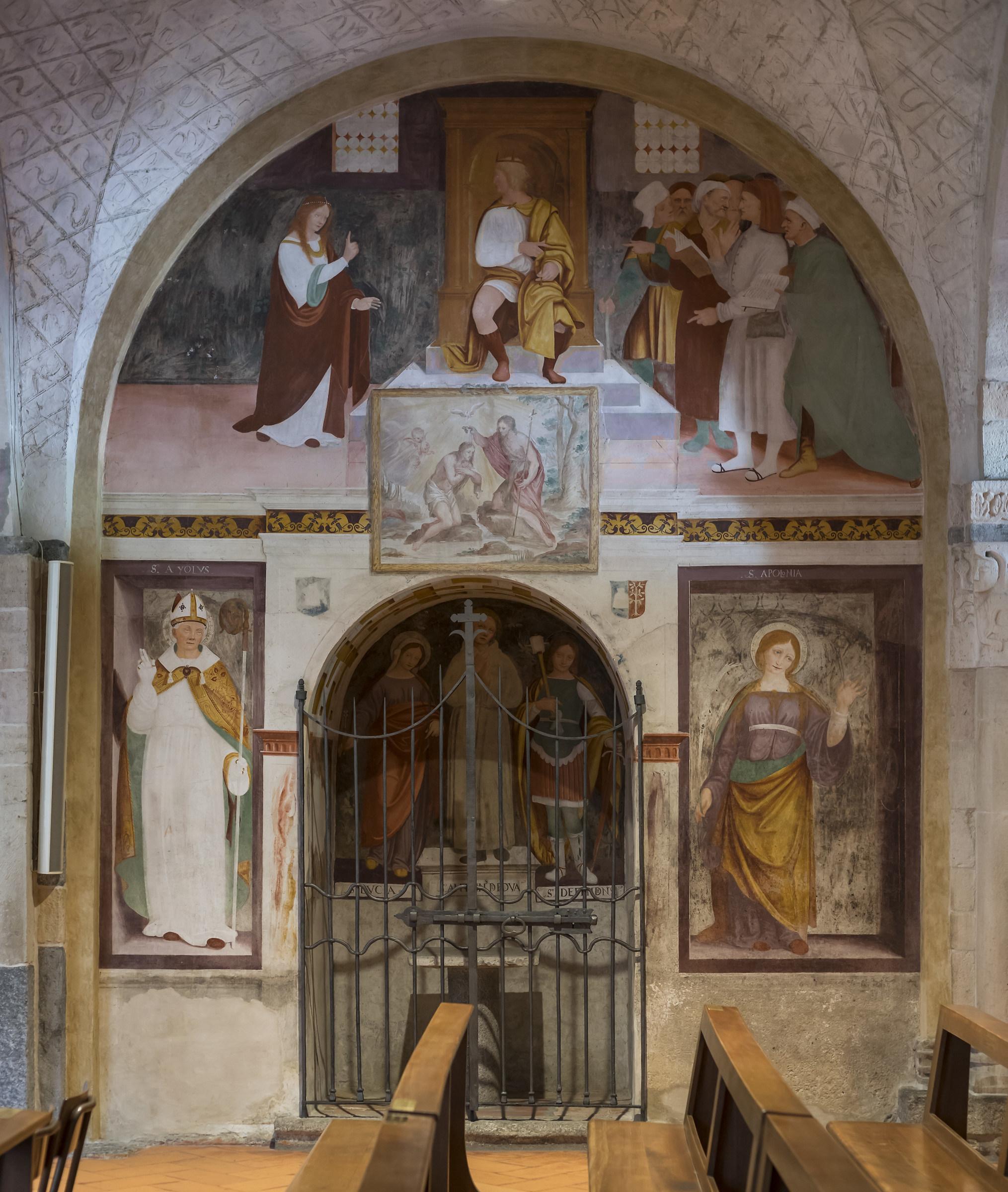 Sesto Calende - Chiesa di San Donato - Nartece - 3...