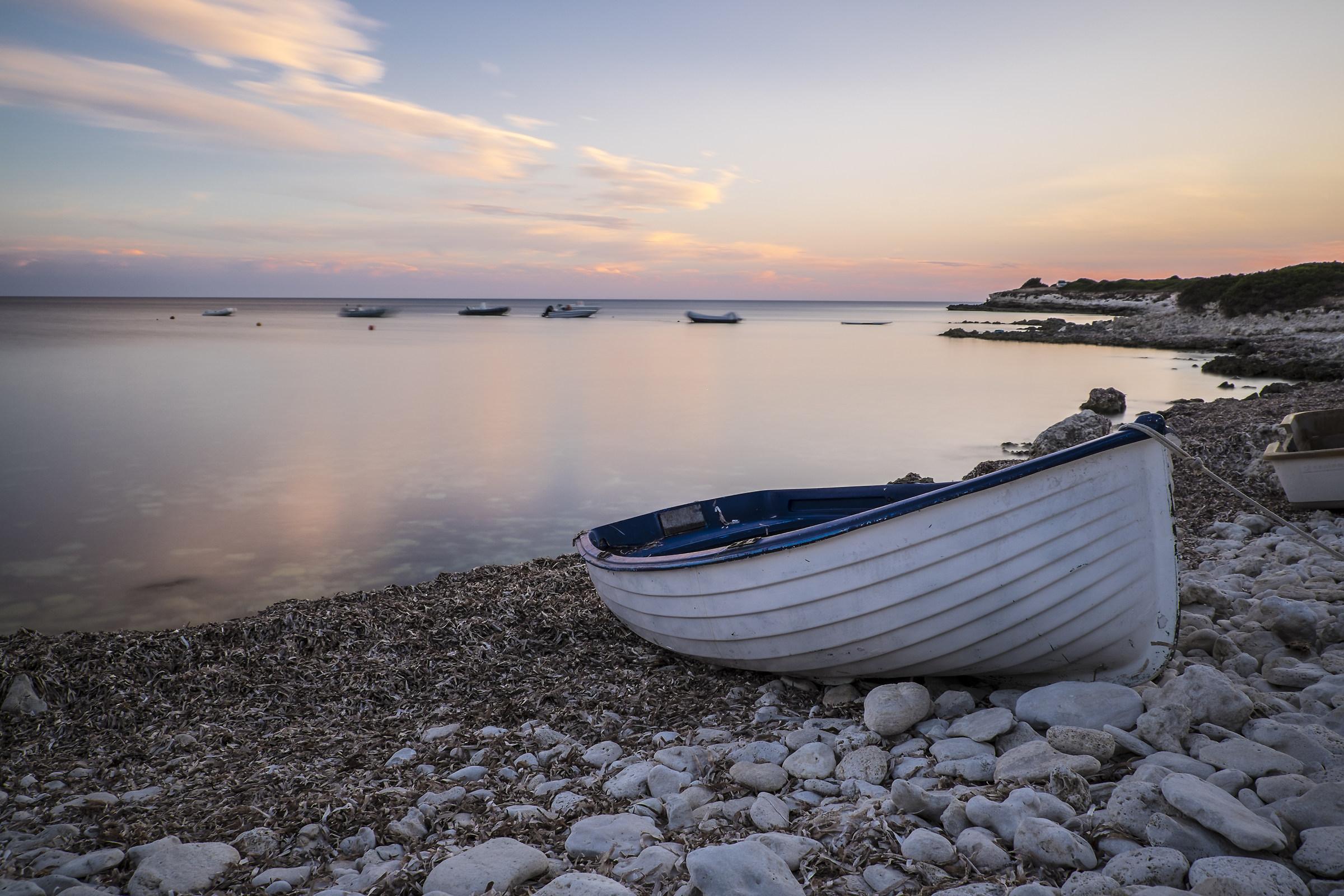 End of summer boat...