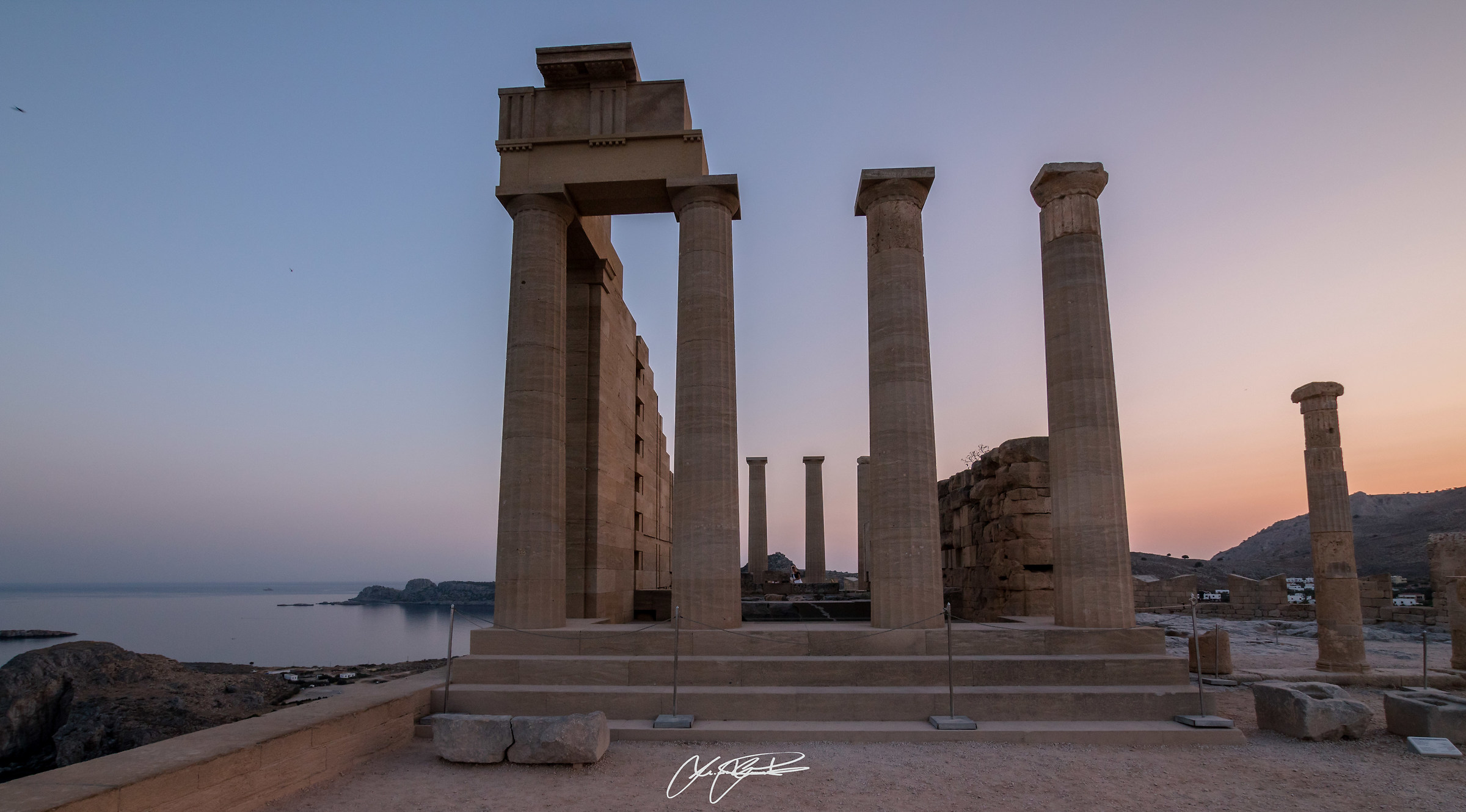 Acropoli di Lindos, Rodi...