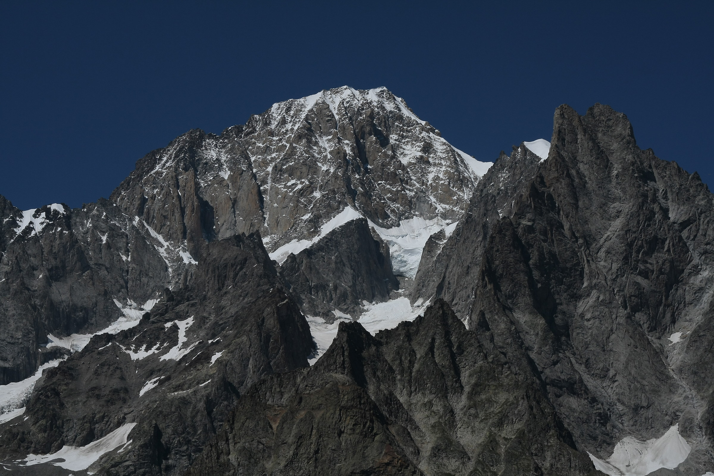 Mont Blanc, south side...