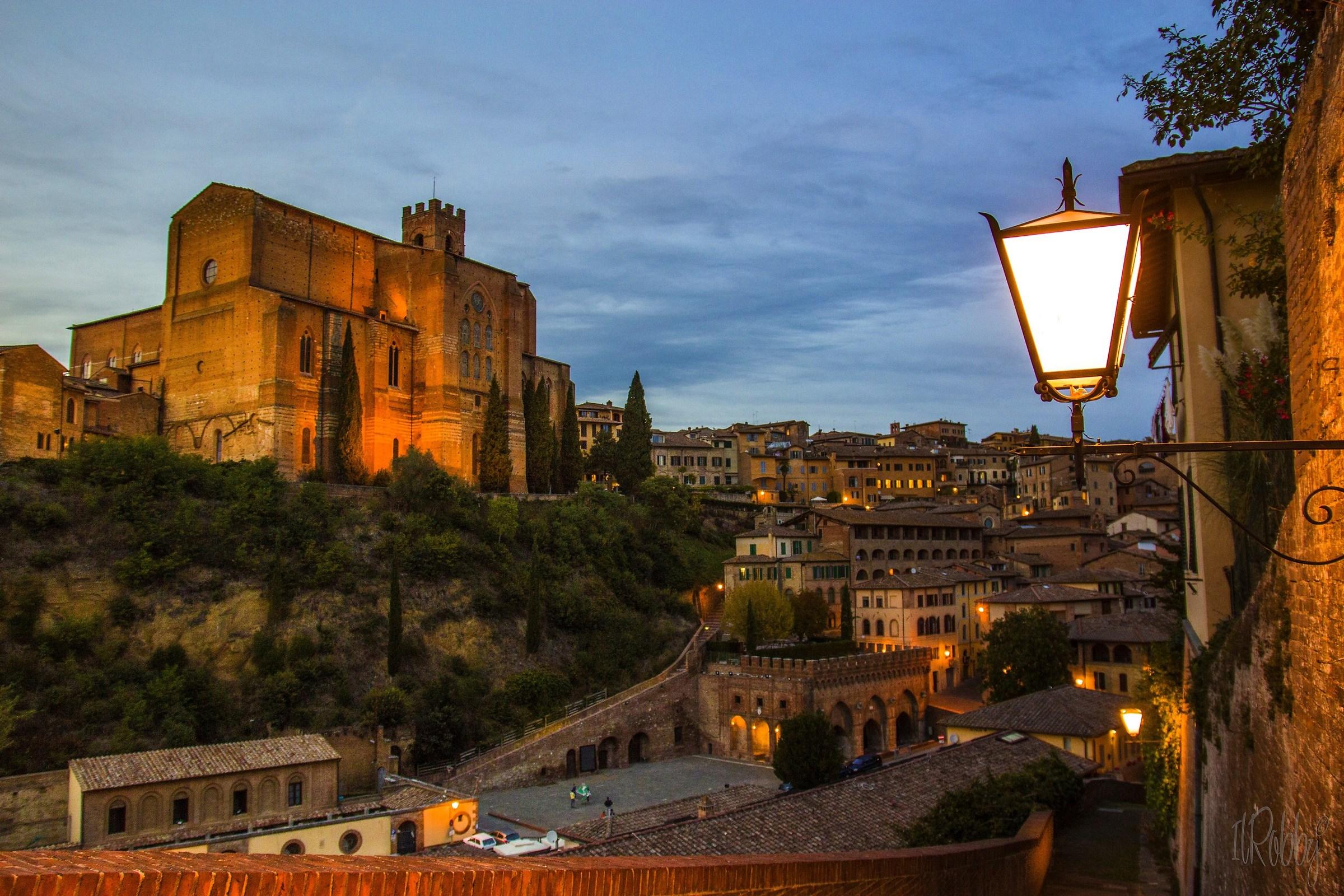 An evening in Siena...