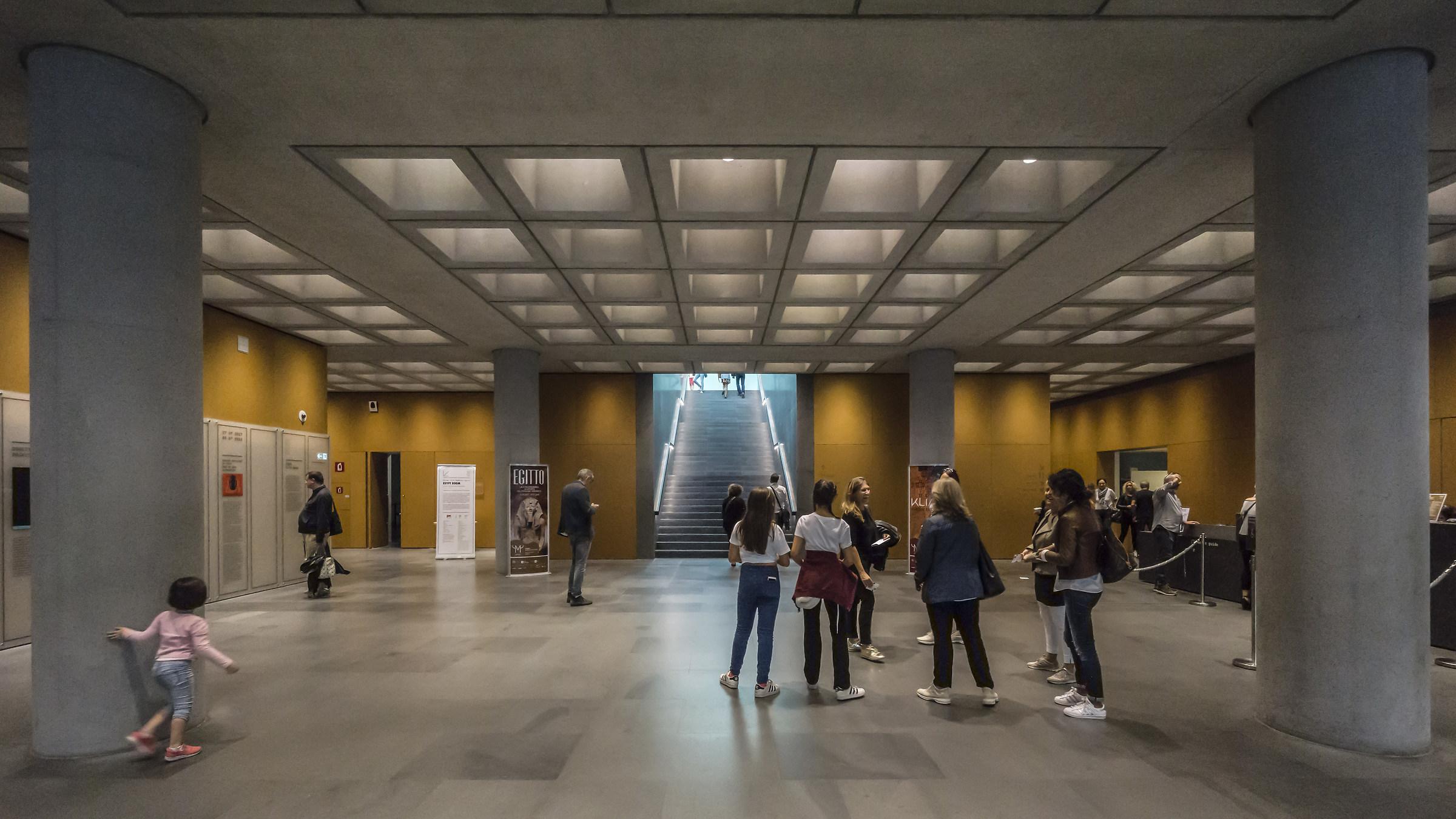 Museo delle Culture (Mudec) - Atrio d'ingresso...