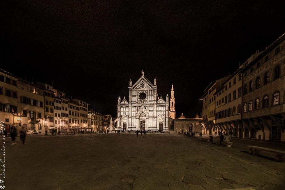 Notturno in Santa Croce...