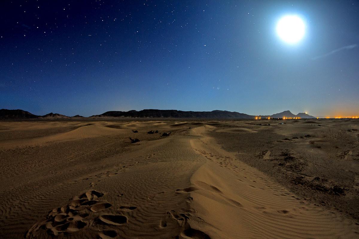 Deserto del Marocco...